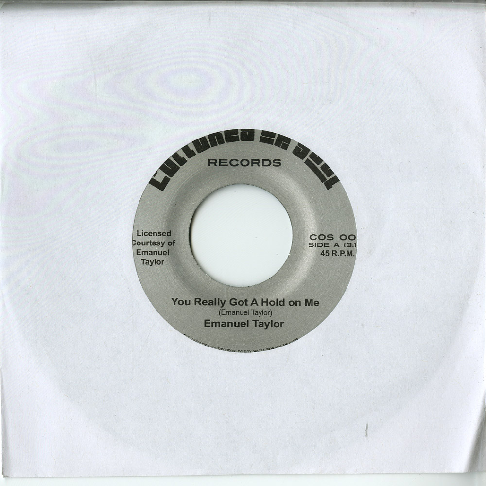 Emanuel Taylor - YOU REALLY GOT A HOLD ON ME