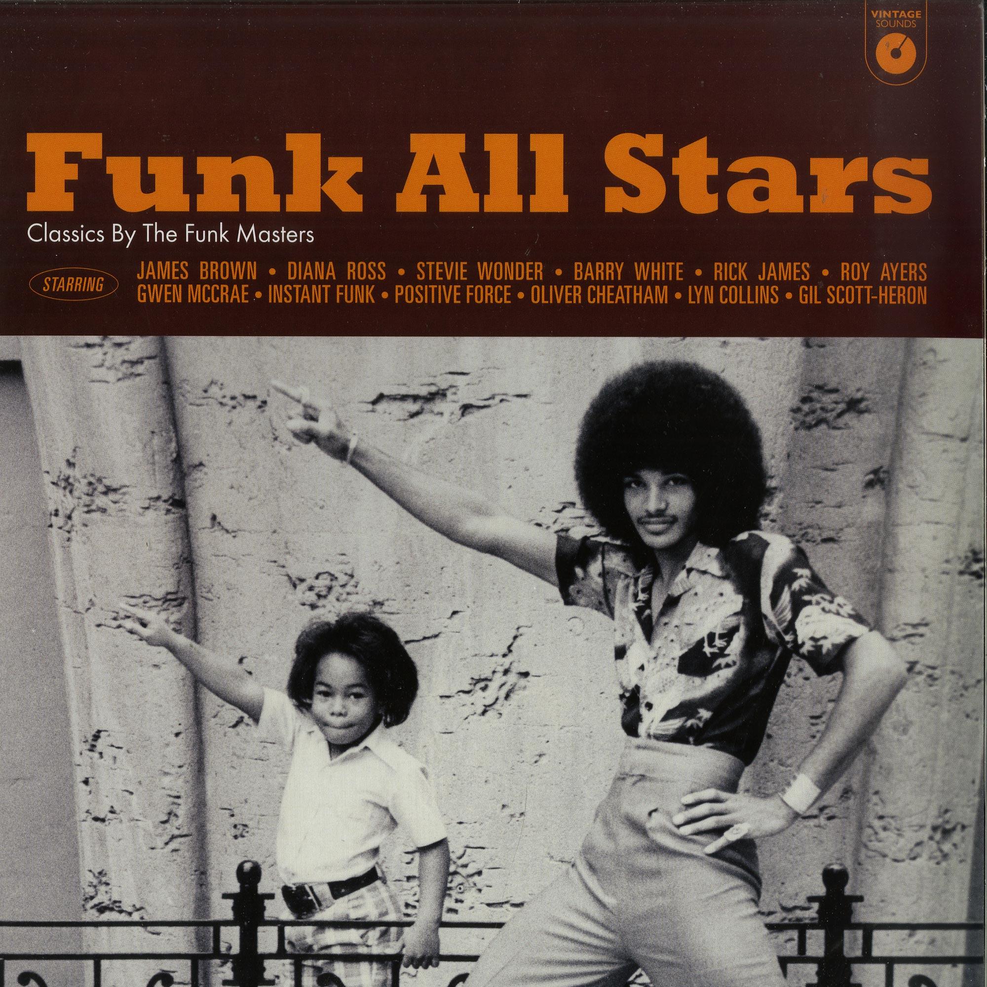 Various Artists - FUNK ALL STARS