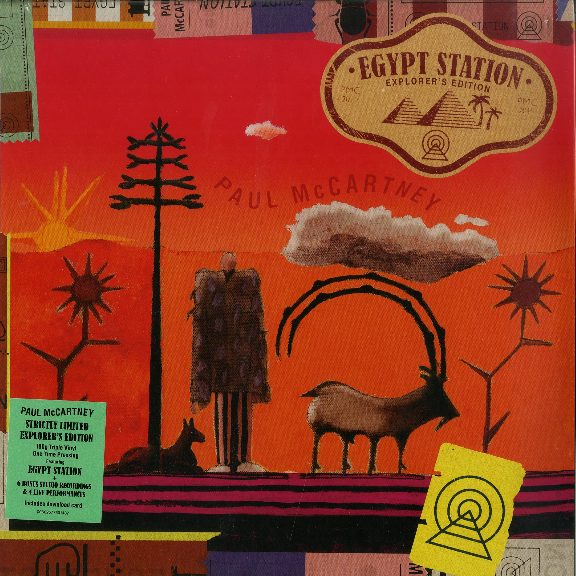 Paul McCartney - EGYPT STATION - EXPLORERS EDITION