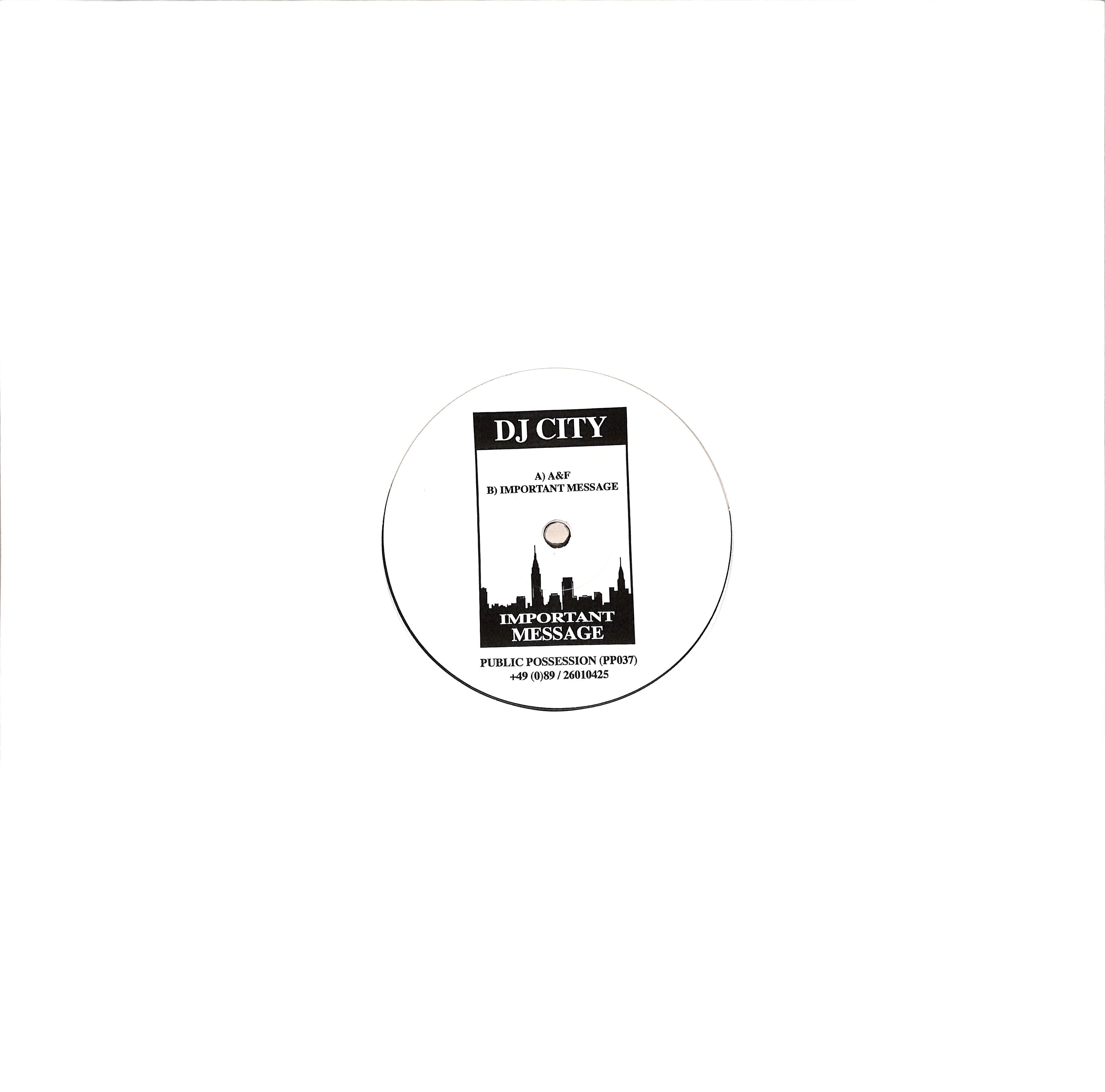 DJ City - IMPORTANT MESSAGE