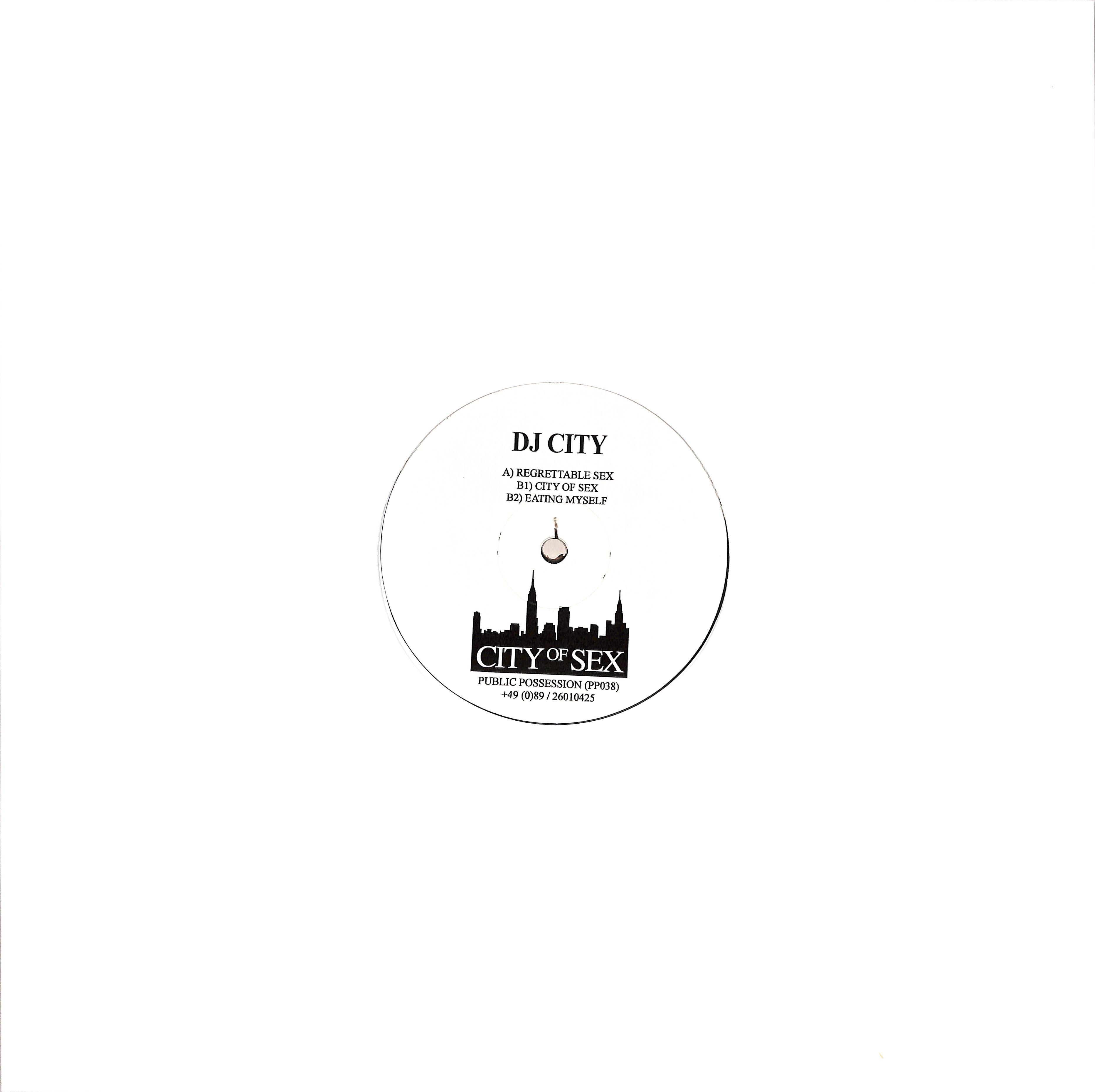 DJ City - CITY OF SEX