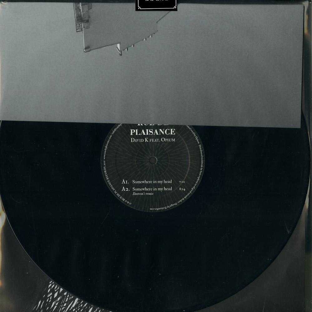 David K ft. Opium - SOMEWHERE IN MY HEAD