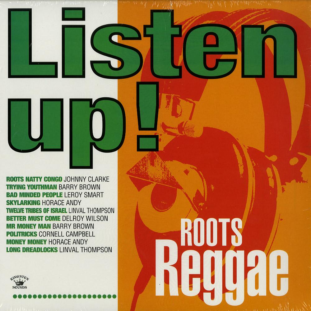 Various Artists - LISTEN UP! - ROOTS REGGAE