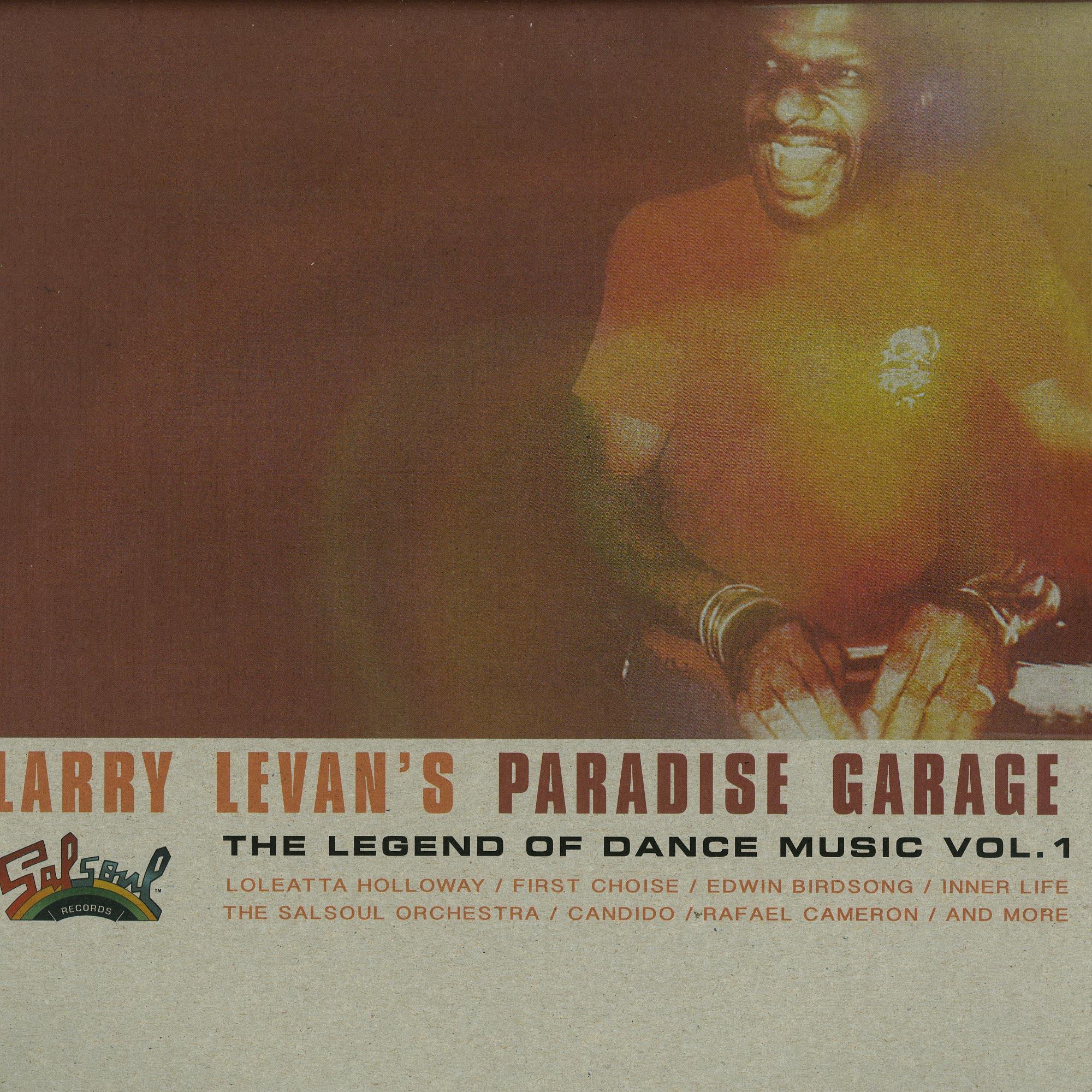 Larry Levans Paradise Garage - THE LEGEND OF DANCE MUSIC VOL.1