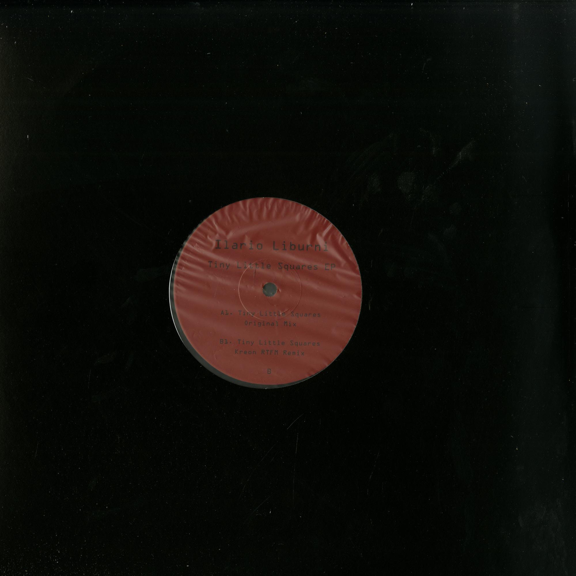 Ilario Liburni - TINY LITTLE SQUARES EP