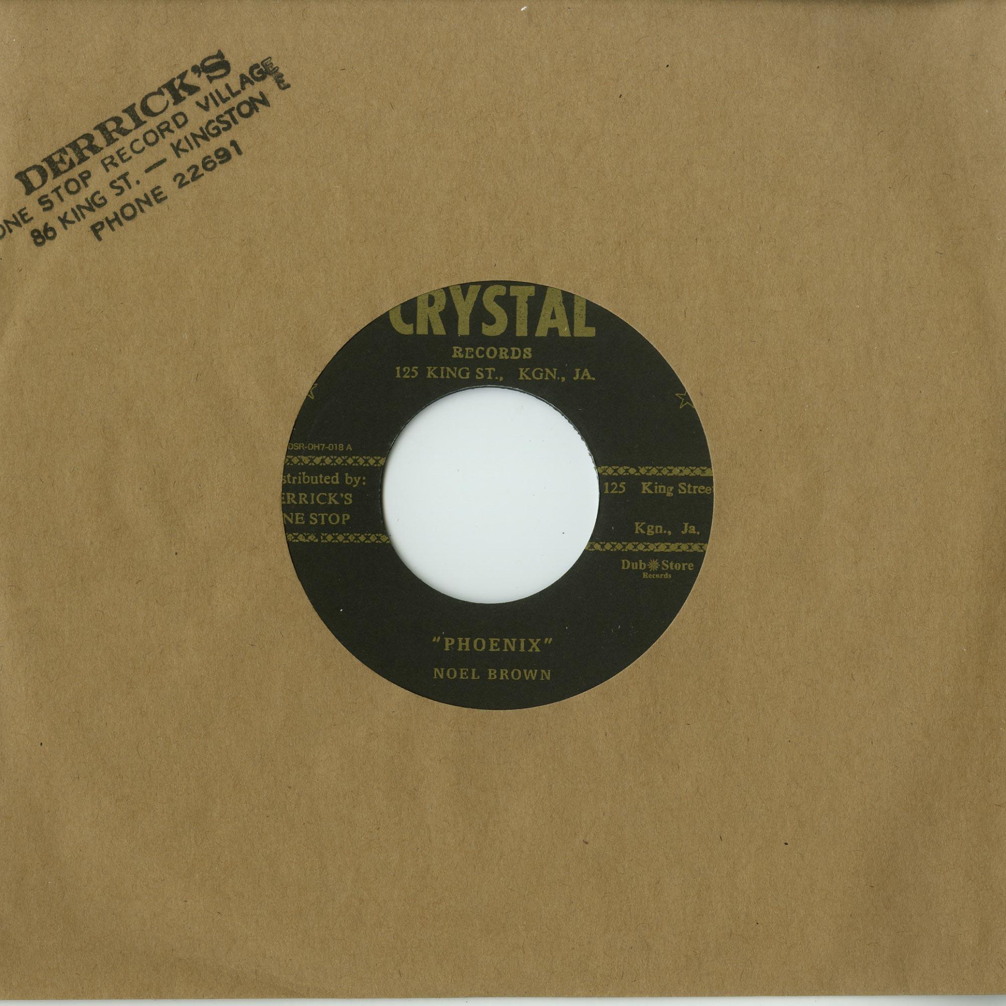 Noel Brown. Ike B & The Crystalites - PHOENIX / PATRICIA