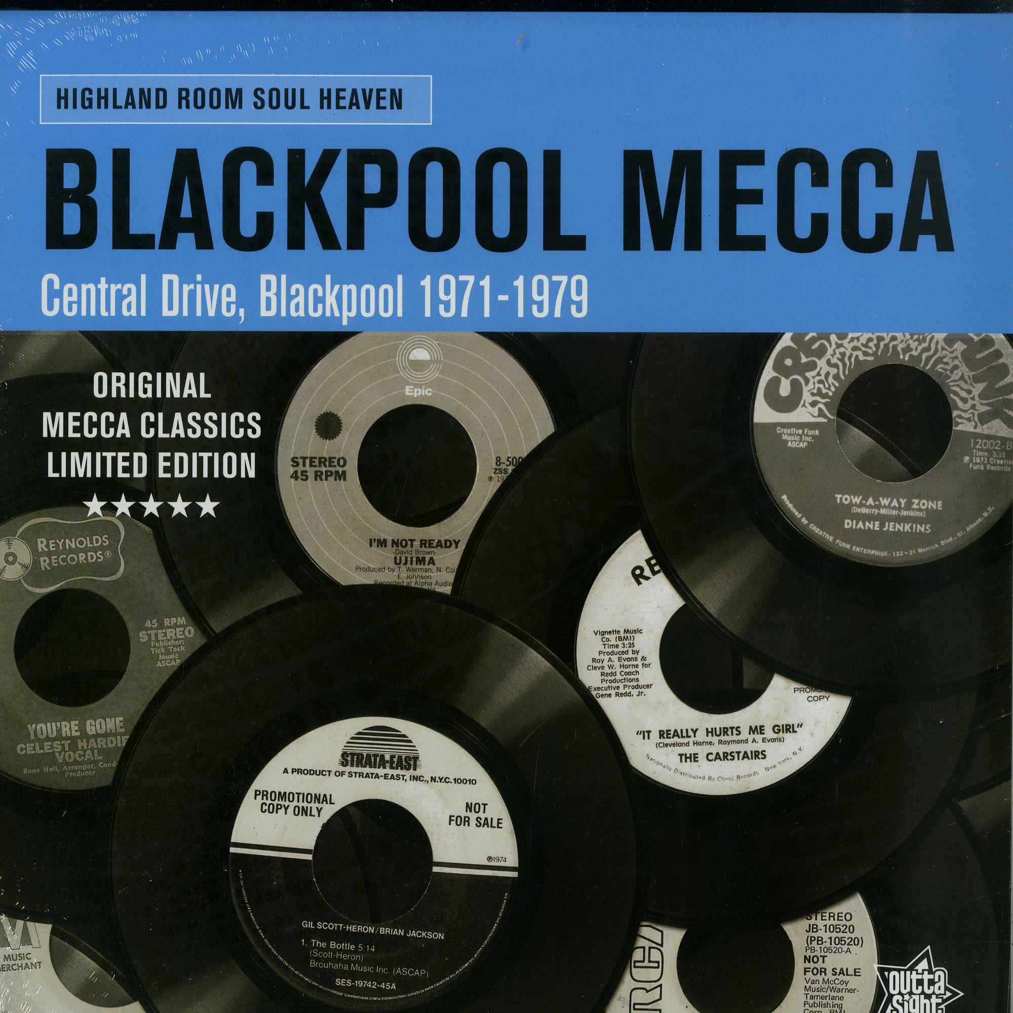 Various Artists - BLACKPOOL MECCA / CENTRAL DRIVE. BLACKPOOL 1971-79