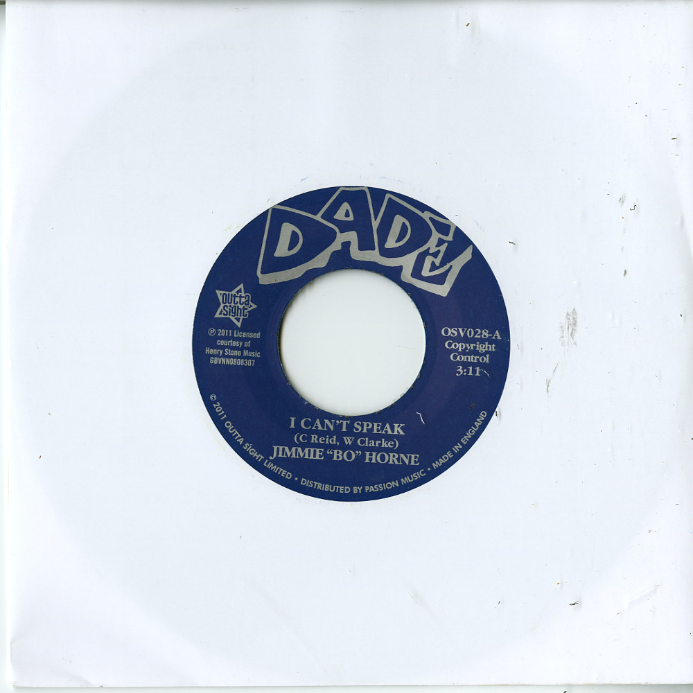 Jimmie Bo Horne - I CANT SPEAK / IF YOU WANT MY LOVE