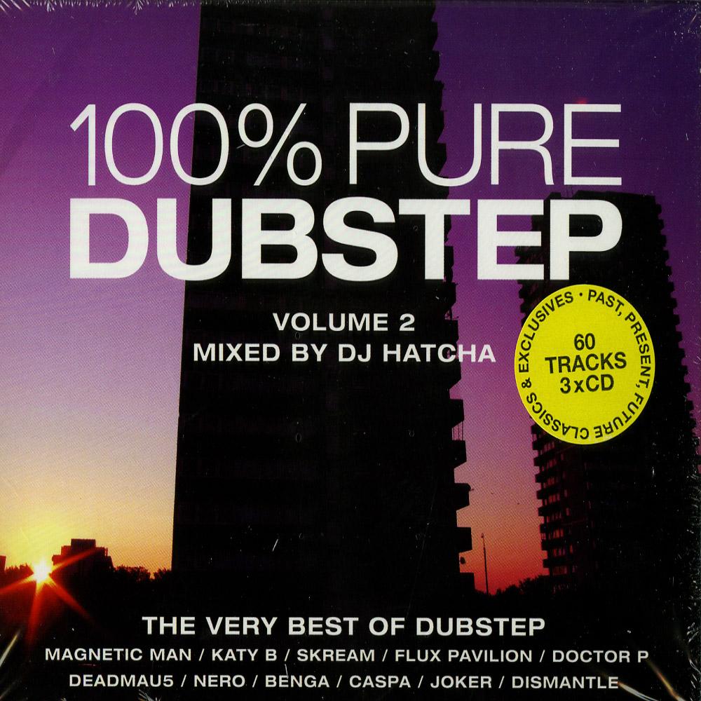 Various Arttists , mixed by DJ Hatcha - 100% PURE DUBSTEP VOL.2
