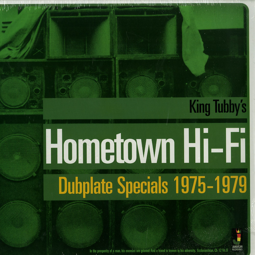 King Tubby - HOMETOWN HI-FI: DUBPLATE SPECIALS 1975-79