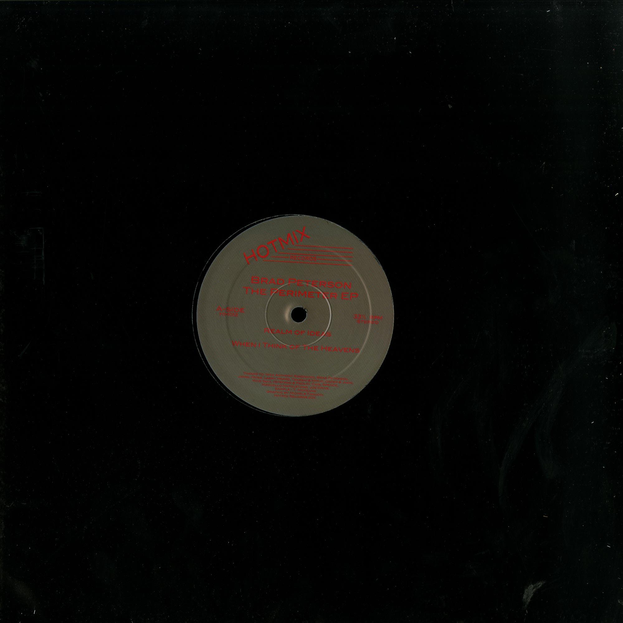 Brad Peterson - THE PERIMETER EP