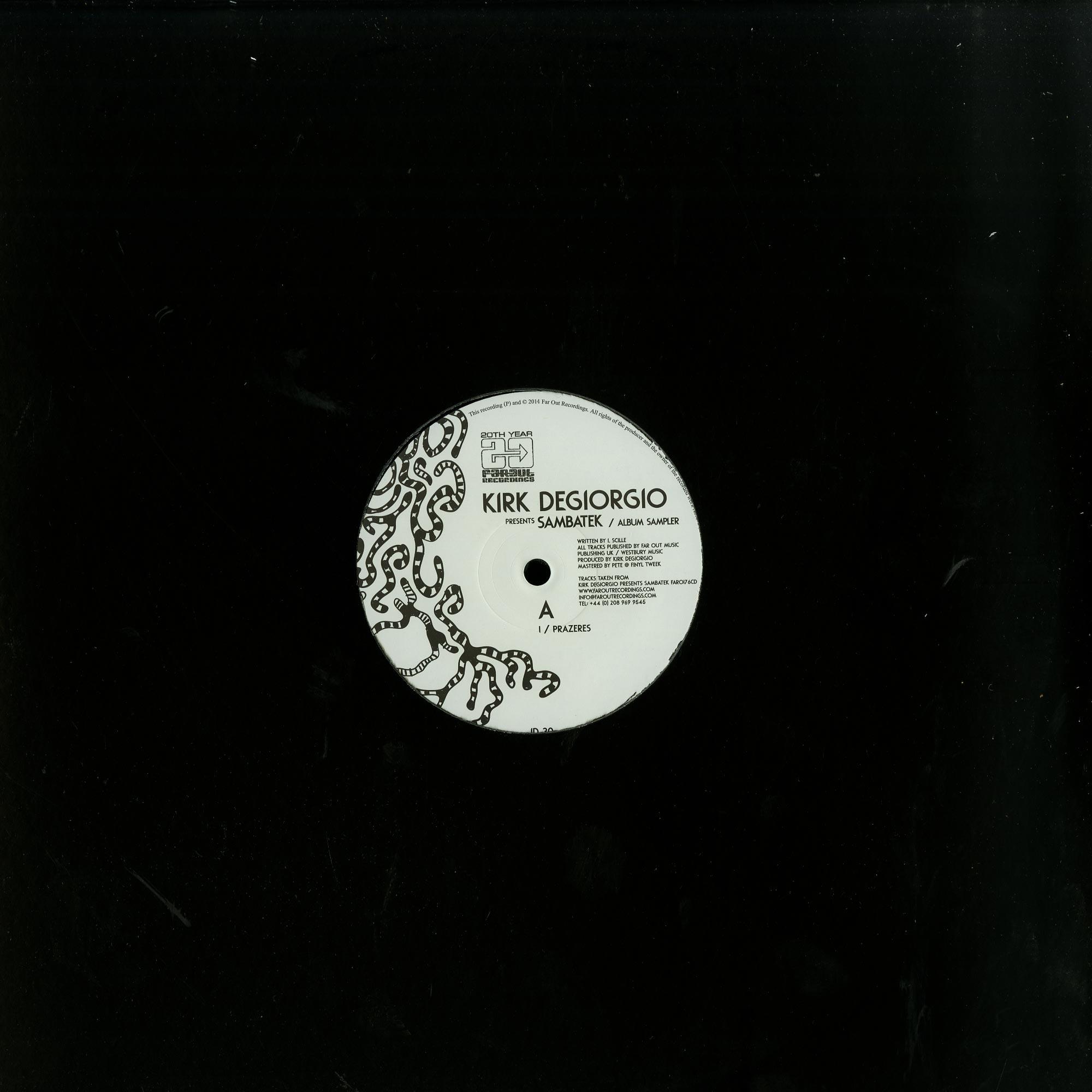 Kirk Degiorgio - SAMBATEK - THE ALBUM SAMPLER