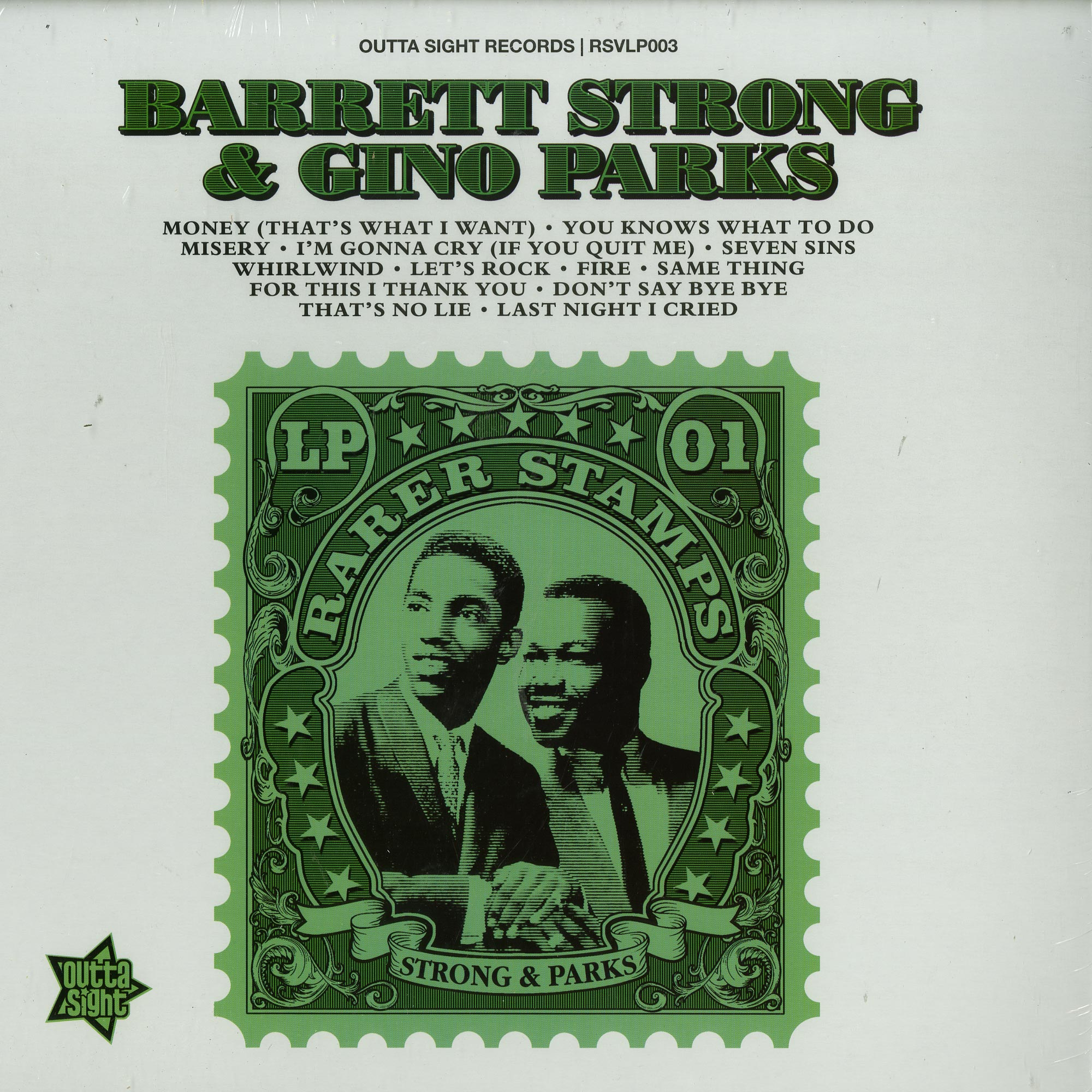 Barrett Strong / Gino Parks - RARER STAMPS VOL.1