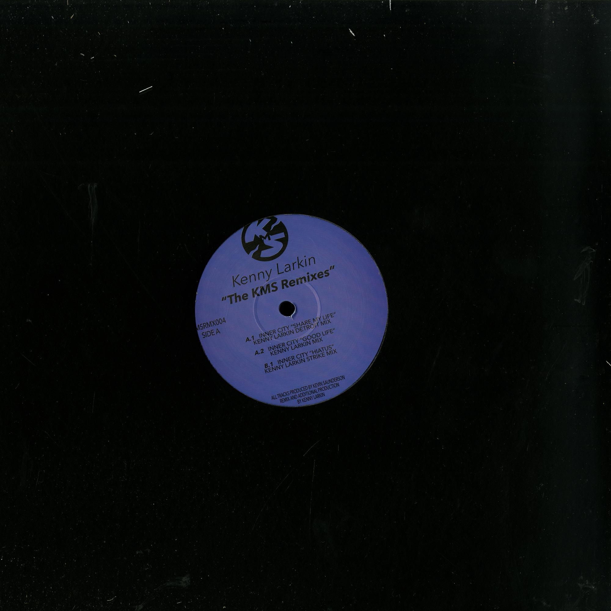 Kenny Larkin - THE KMS REMIXES