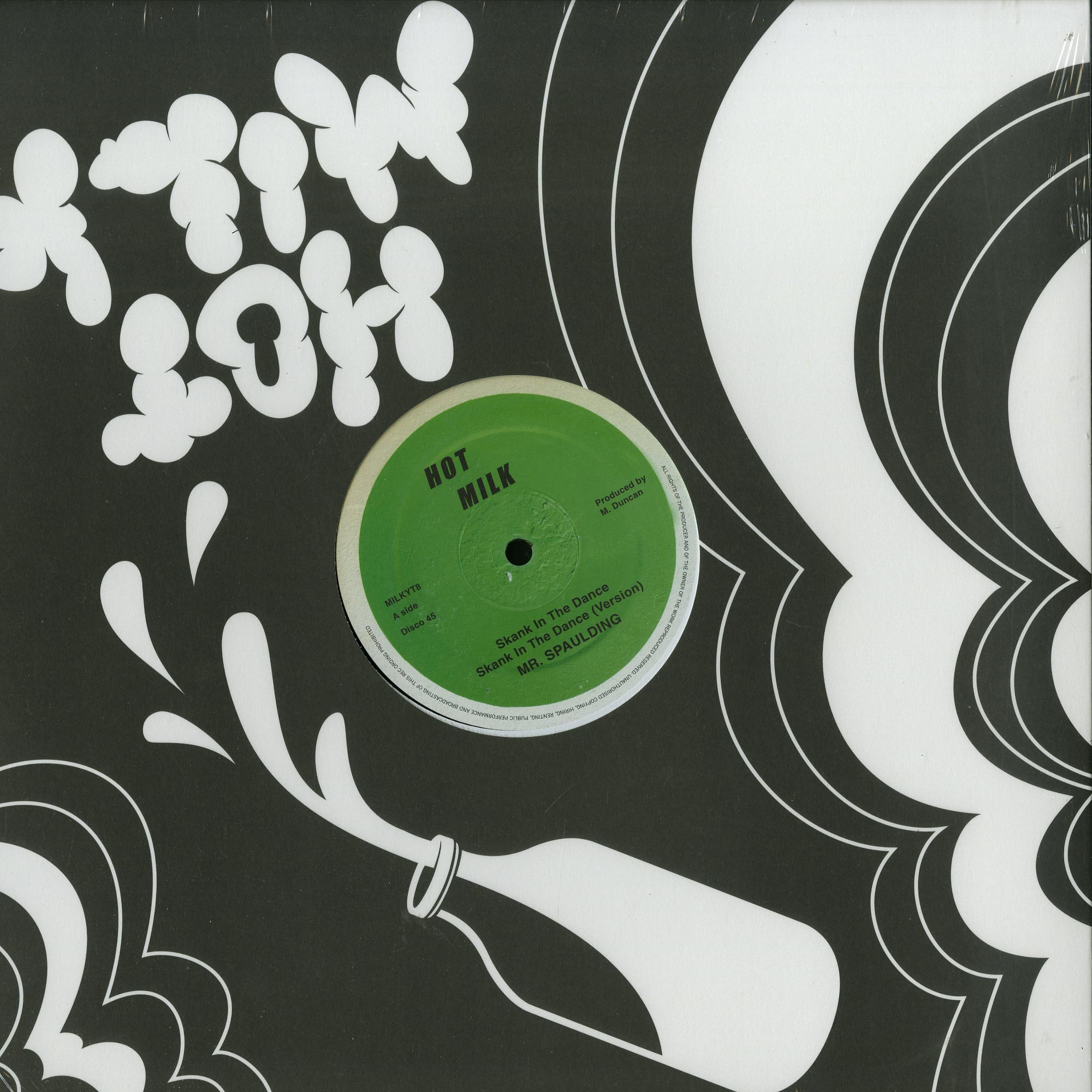 Mr. Spaulding - SHANK IN THE DANCE / COME NOW YOUTHMAN EP