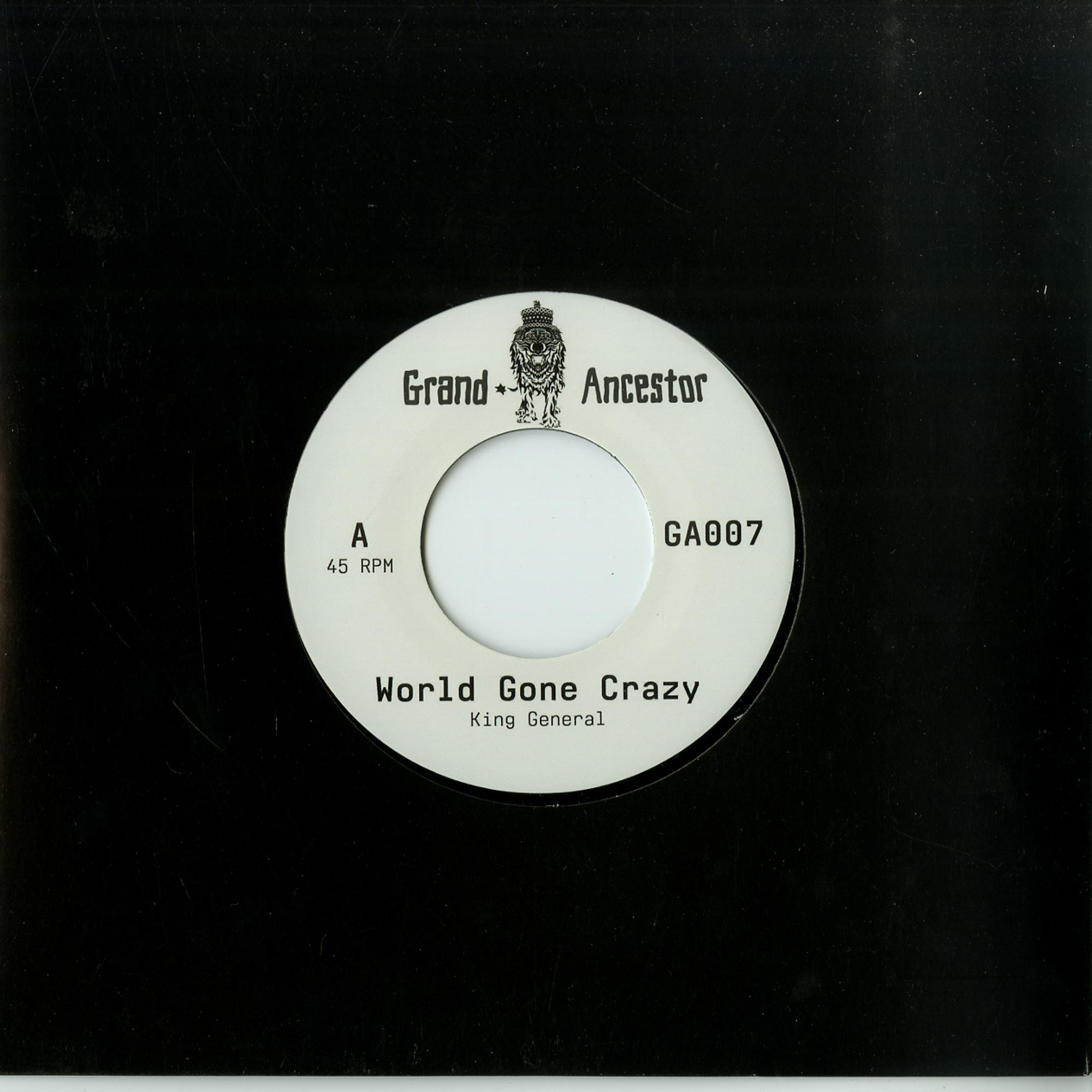 King General / Adam Prescott - WORLD GONE CRAZY