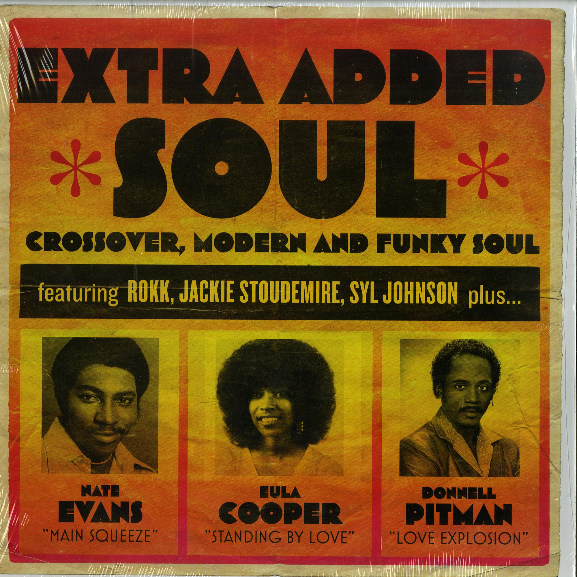 Various Artists - EXTRA ADDED SOUL: CROSSOVER, MODERN AND FUNKY SOUL