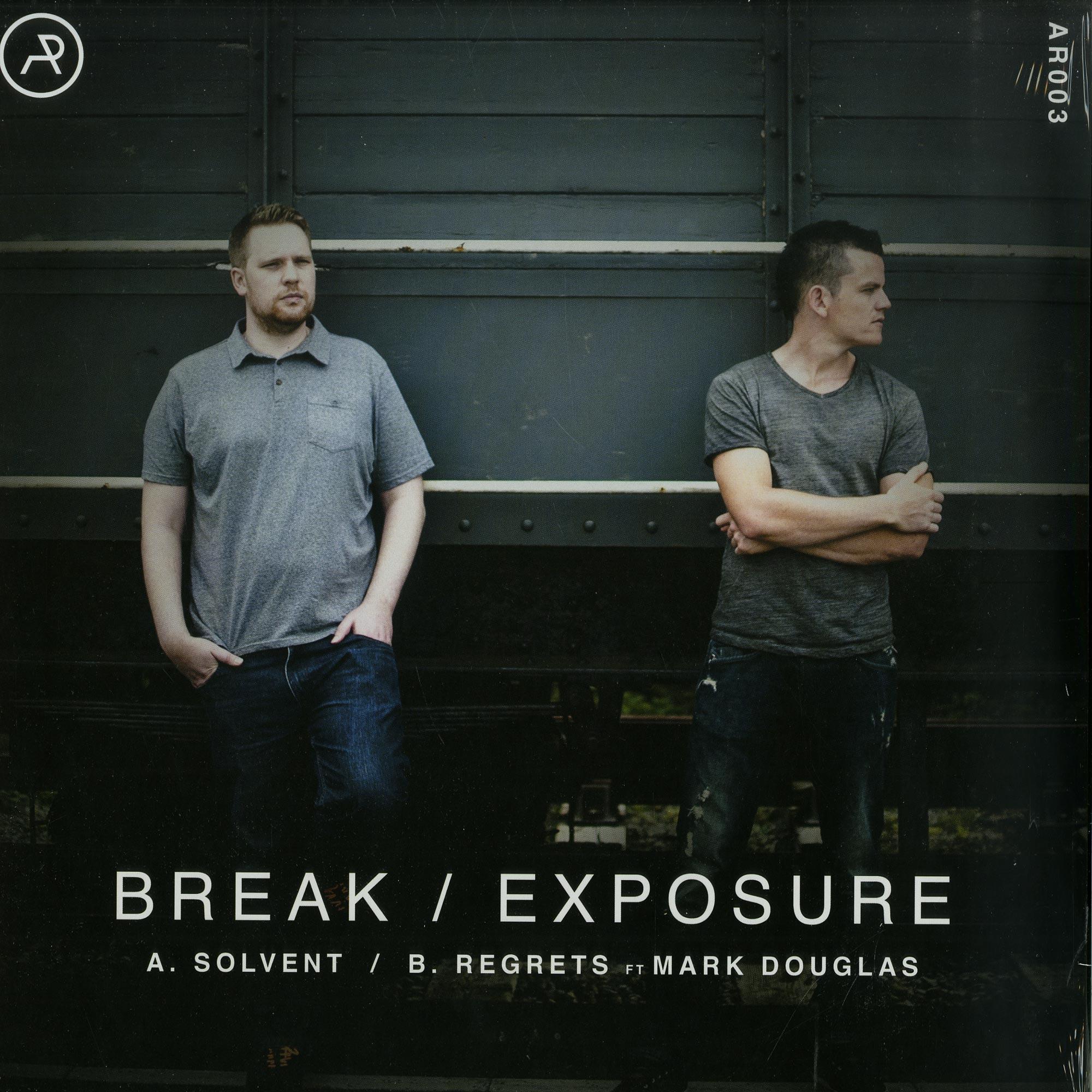 Break / Exposure - SOLVENT / REGRETS