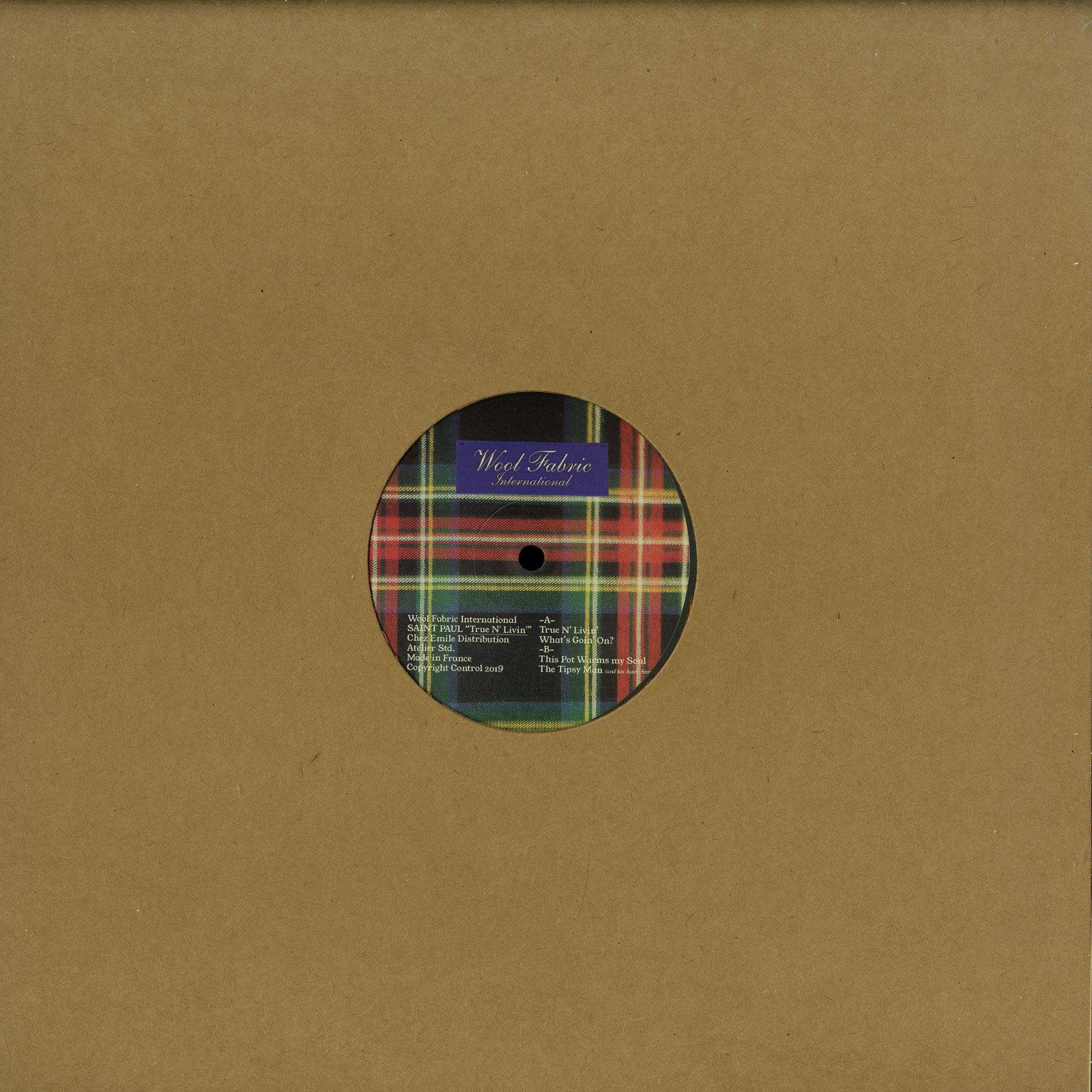 Saint Paul - TRUE N LIVIN EP