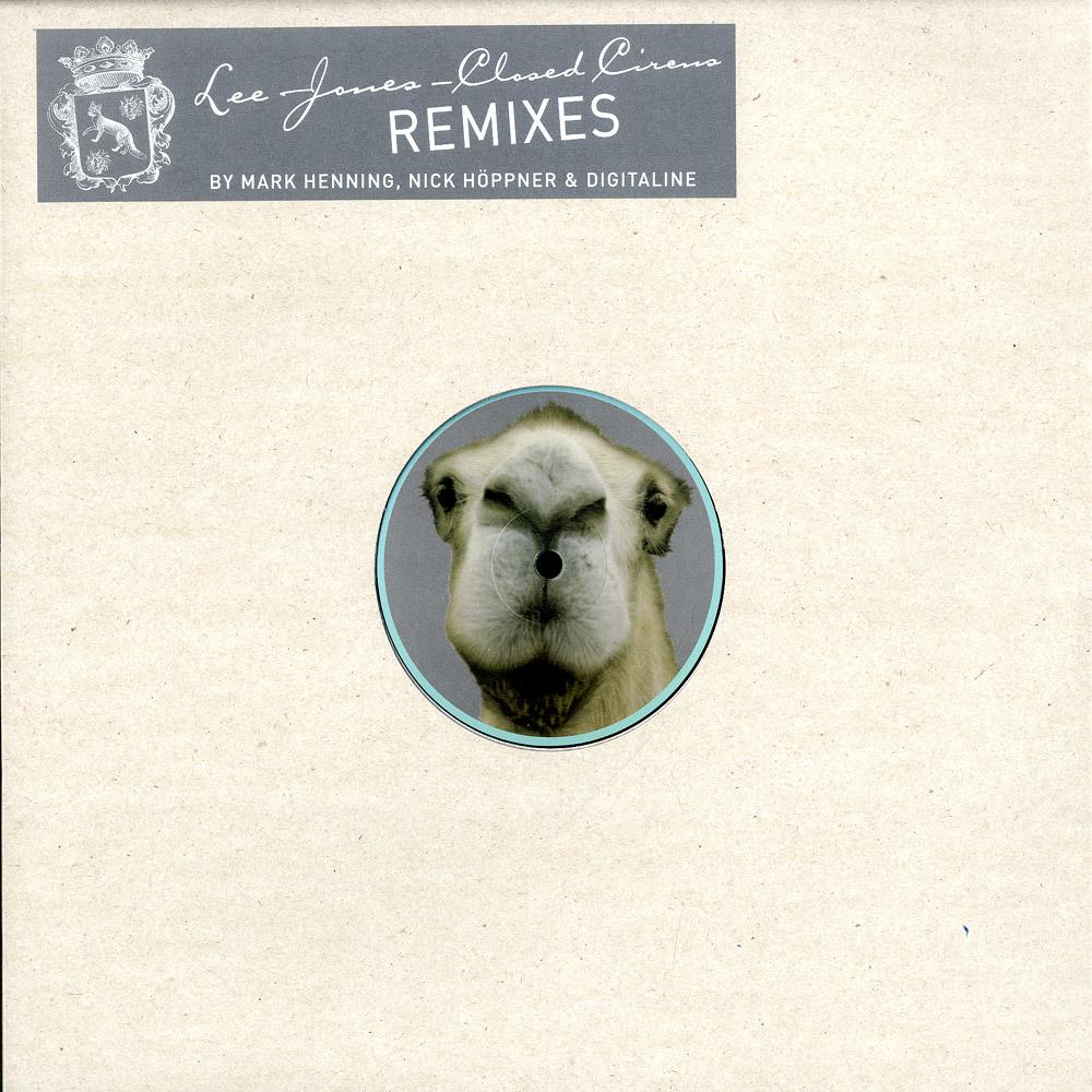Lee Jones - CLOSED CIRCUS REMIXES