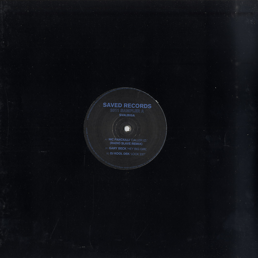 Nic Fanciulli / Gary Beck / DJ Kool Dek - SAVED SAMPLER 2011 PART 1