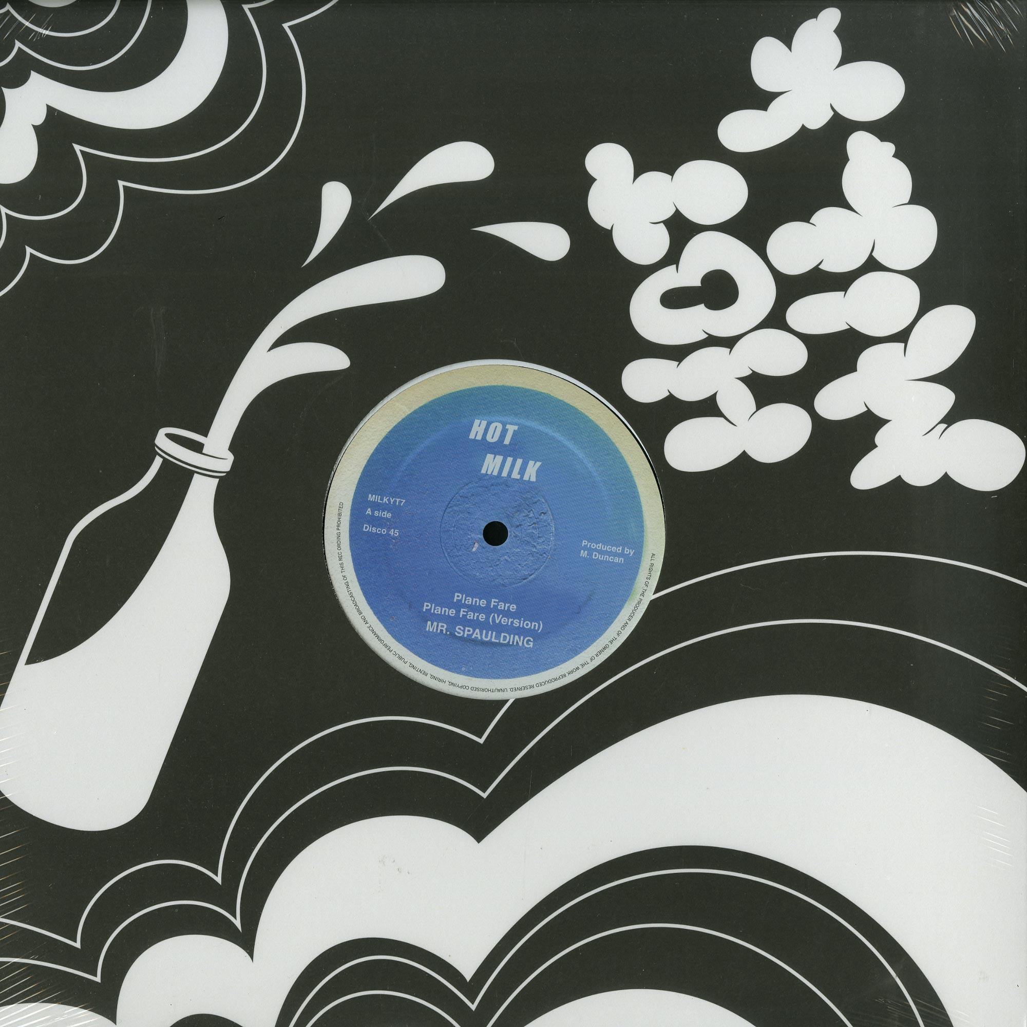 Mr. Spaulding - PLANE FARE / FANTASTIC EP