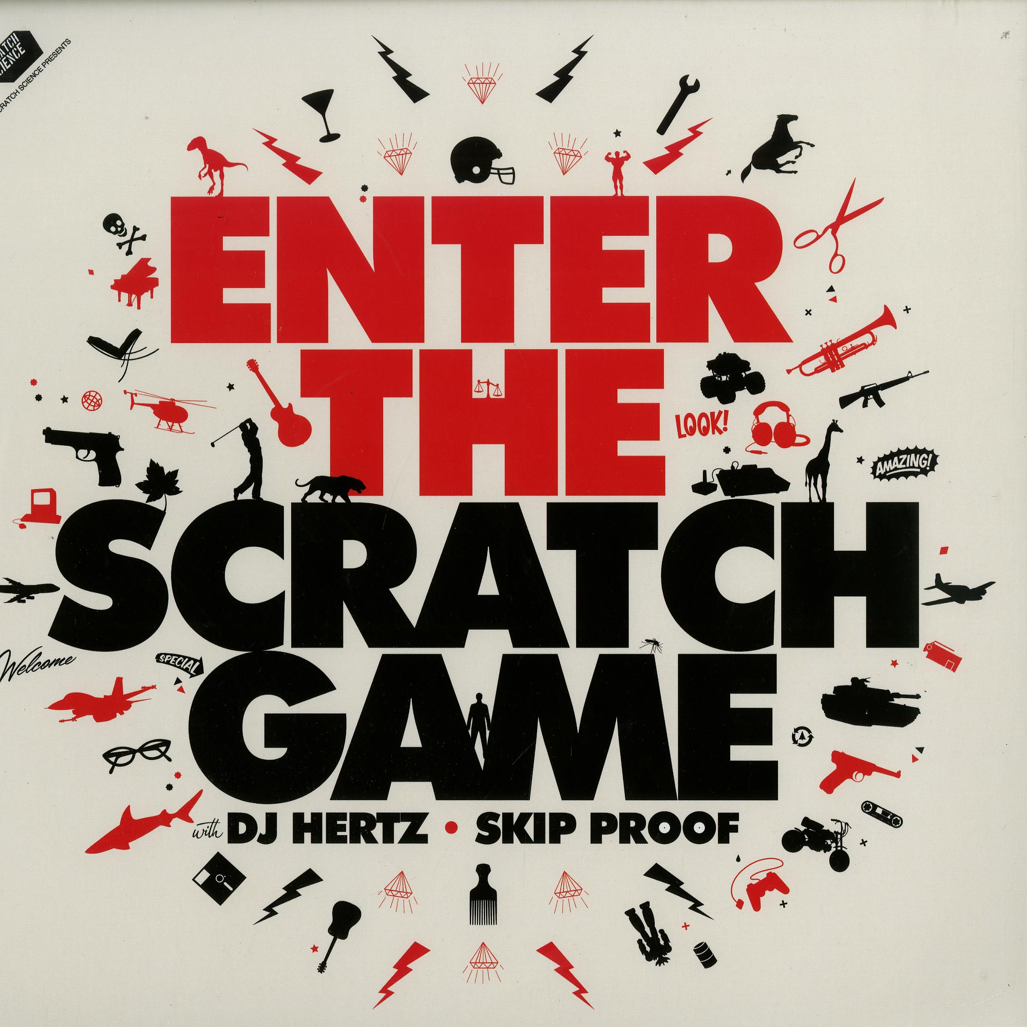 DJ Hertz - ENTER THE SCRATCH GAME