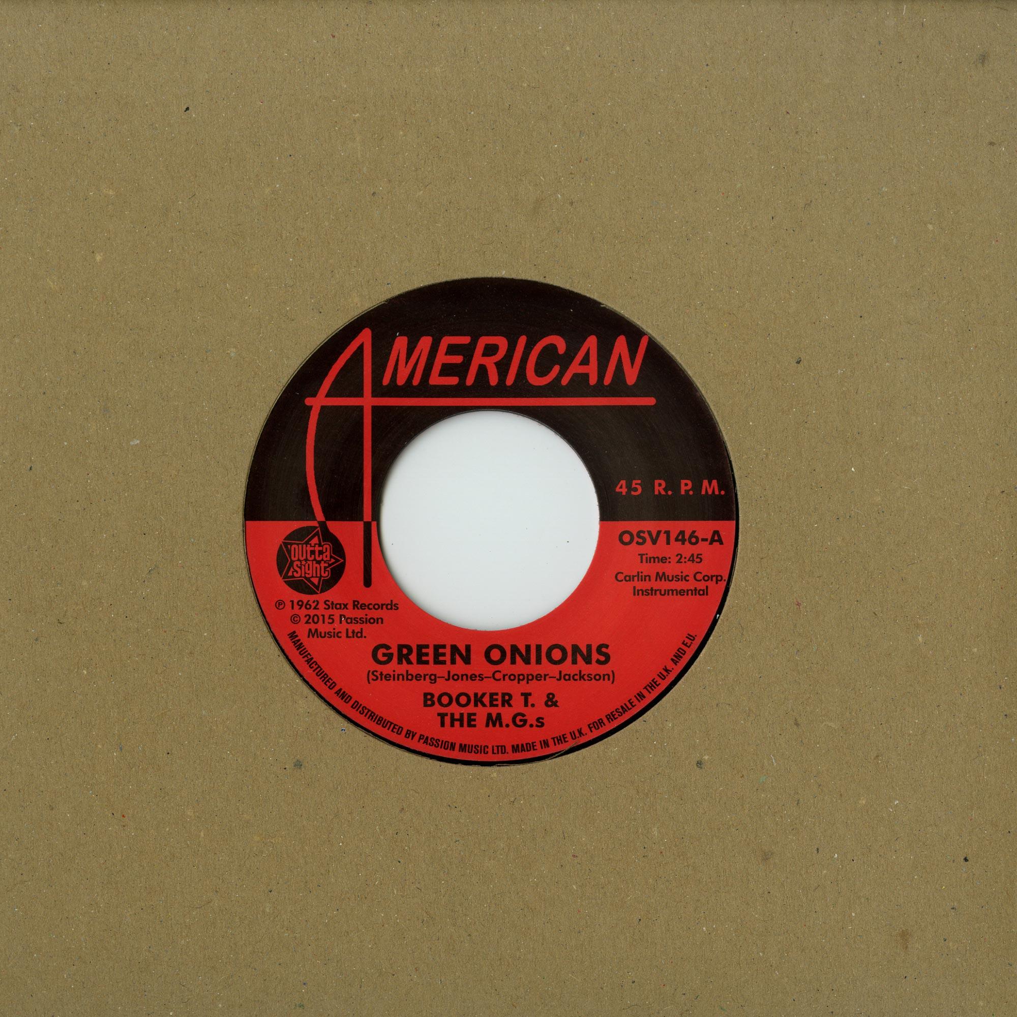Booker T. & M.G.s / The Mar-Kets - GREEN ONIONS / BALBOA BLUE