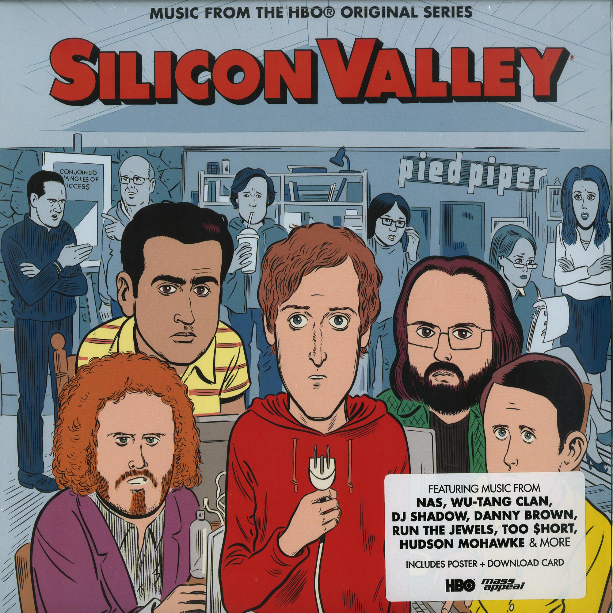 Various Artists - SILICON VALLEY - MUSIC FROM THE HBO SERIES