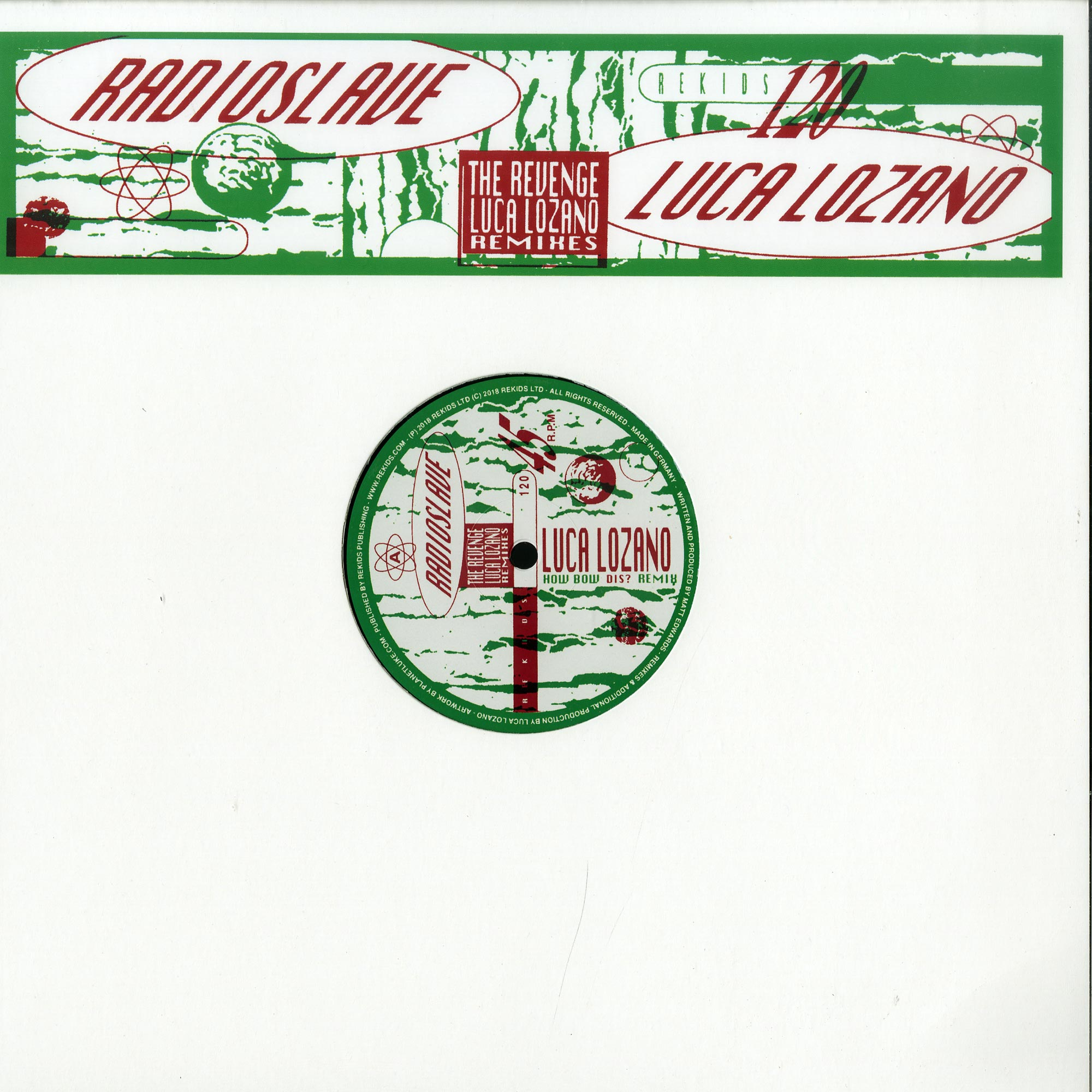Radio Slave - THE REVENGE
