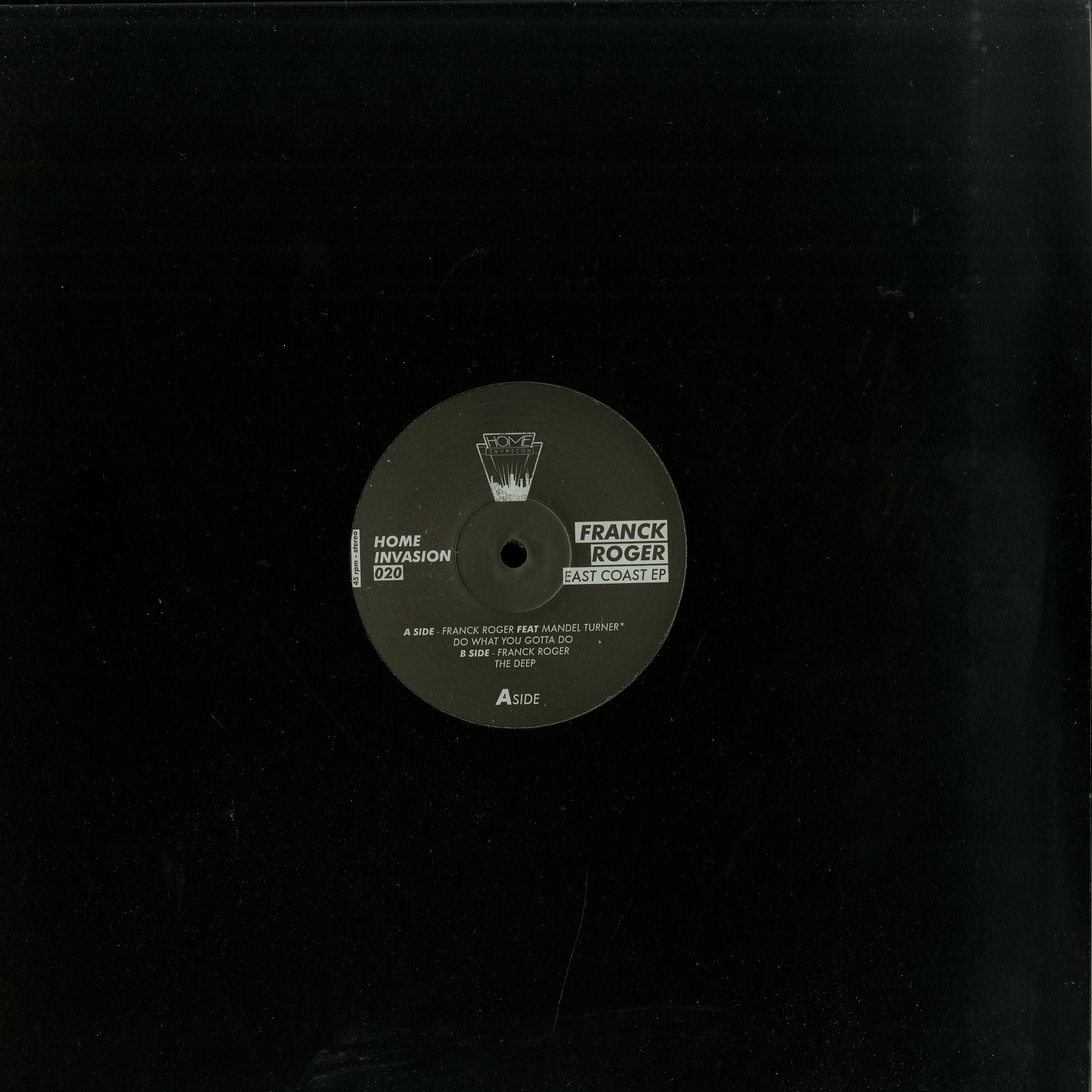 Franck Roger - EAST COAST EP