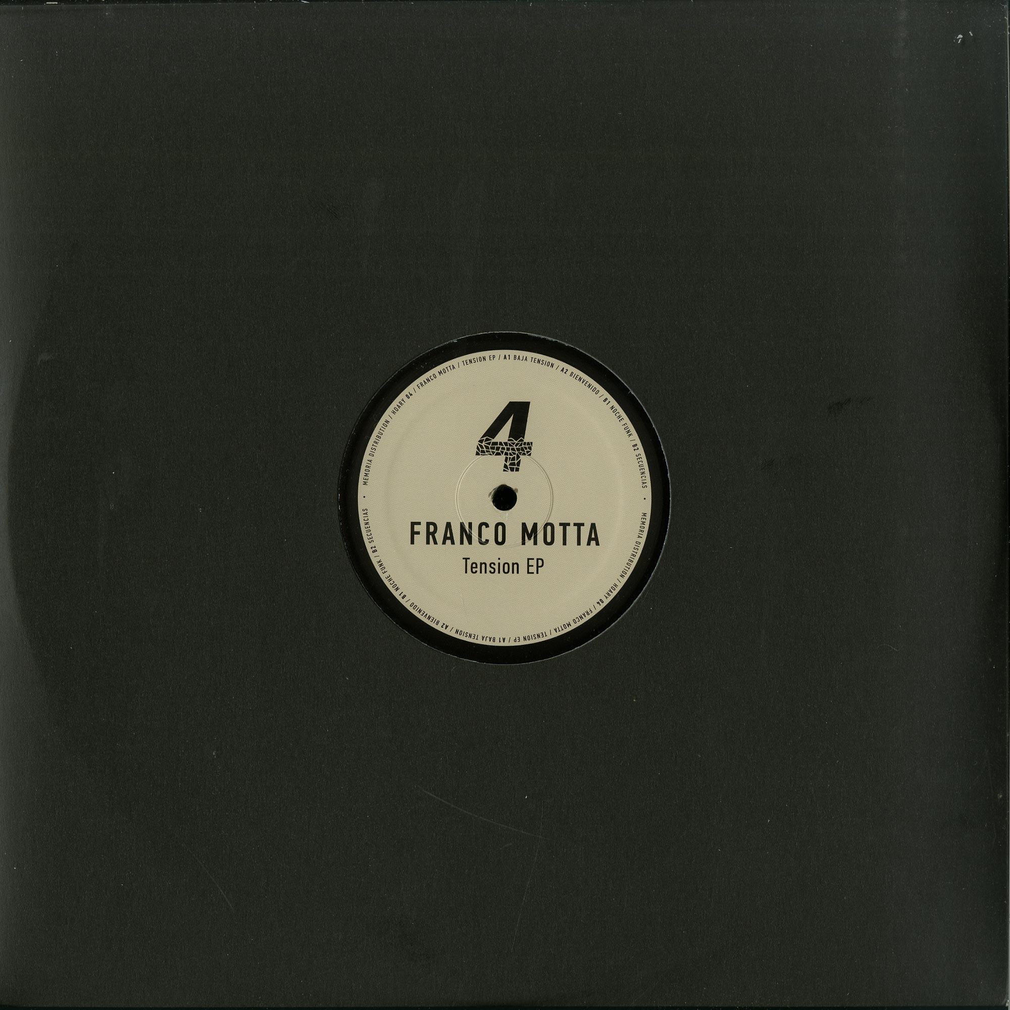 Franco Motta - TENSION EP