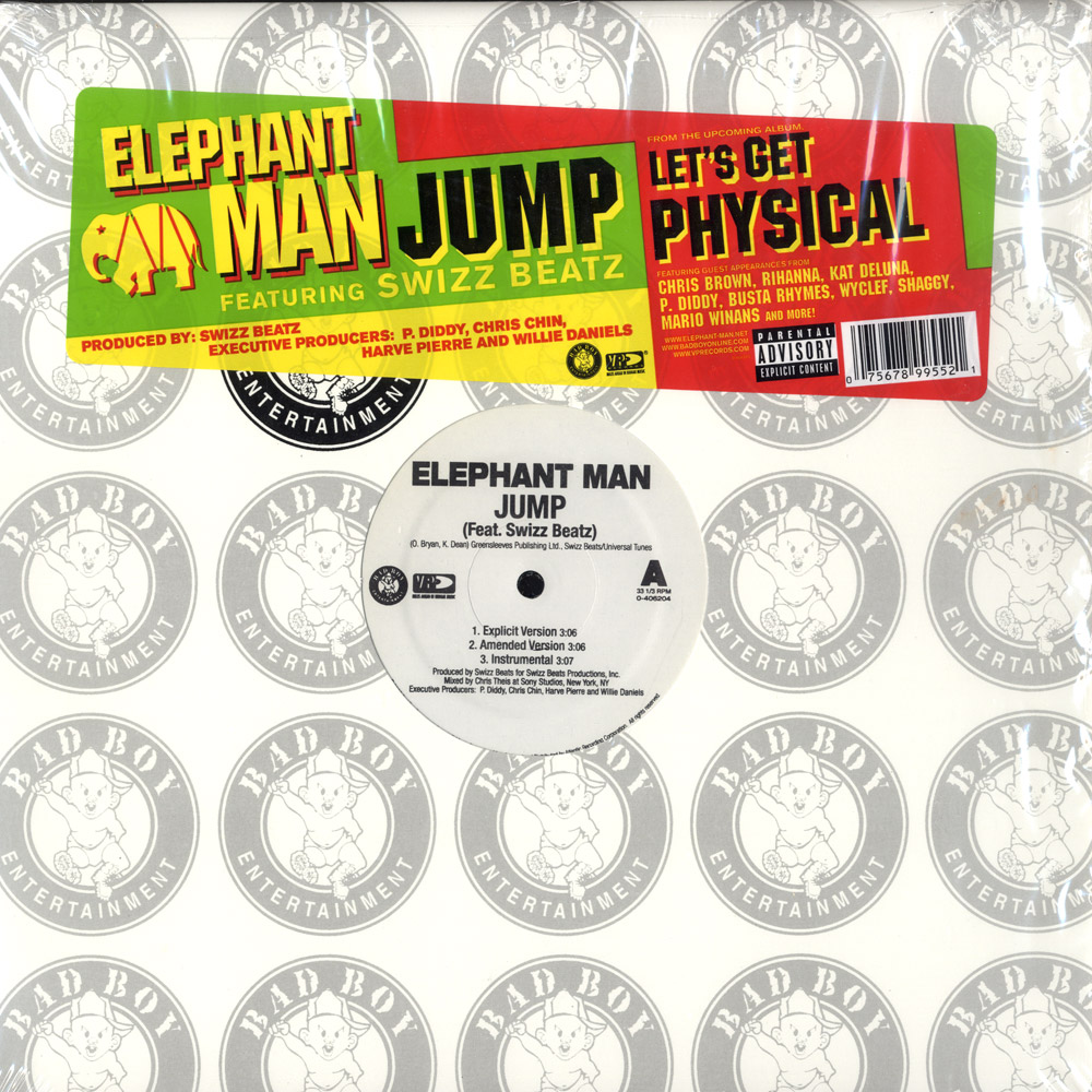Elephant Man feat. Swizz Beatz - JUMP