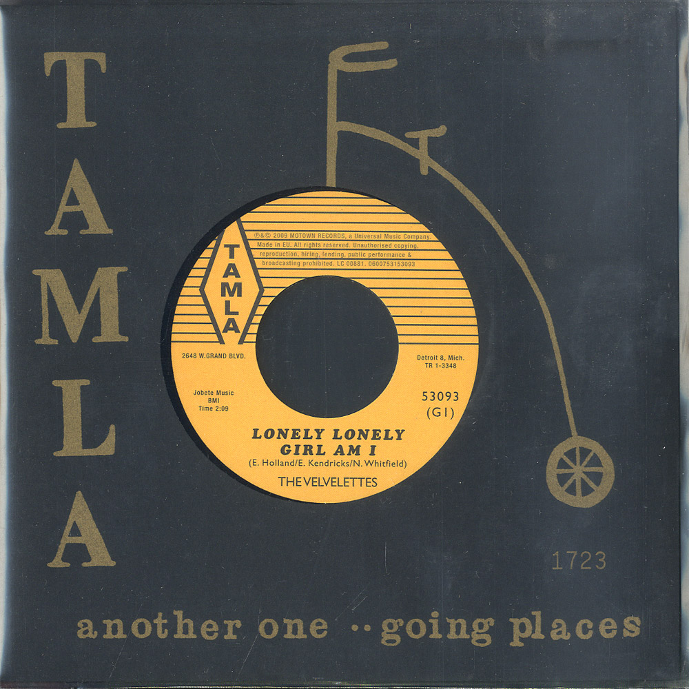 The Velvelettes / The Marvelettes - LONELY LONELY GIRL / ILL KEEP HOLDING ON