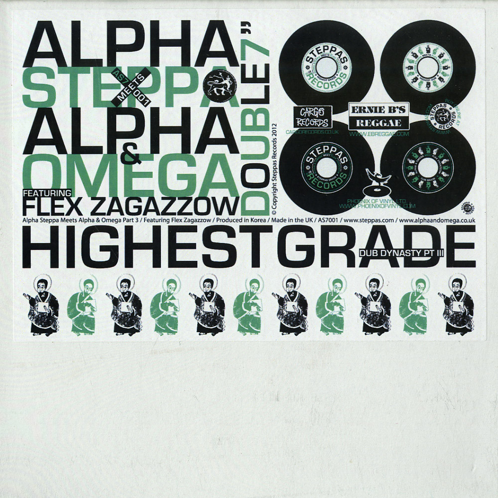 Alpha Steppa - HIGHEST GRADE EP