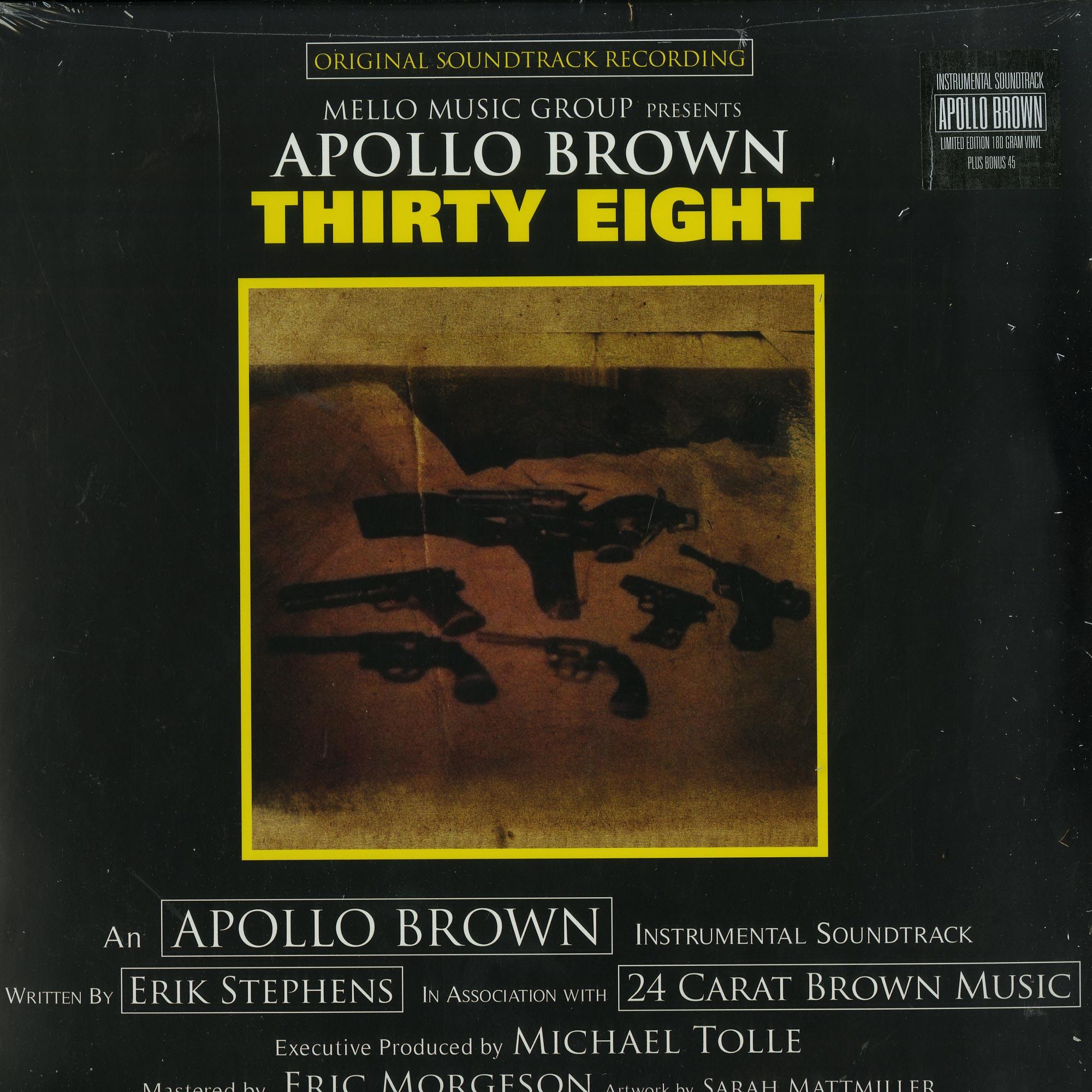 Apollo Brown - THIRSTY EIGHT
