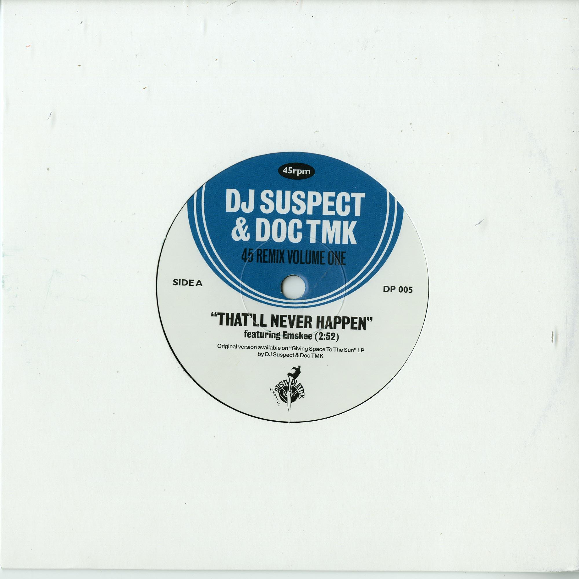 DJ Suspect & Doc Tmk - THAT LL NEVER HAPPEN