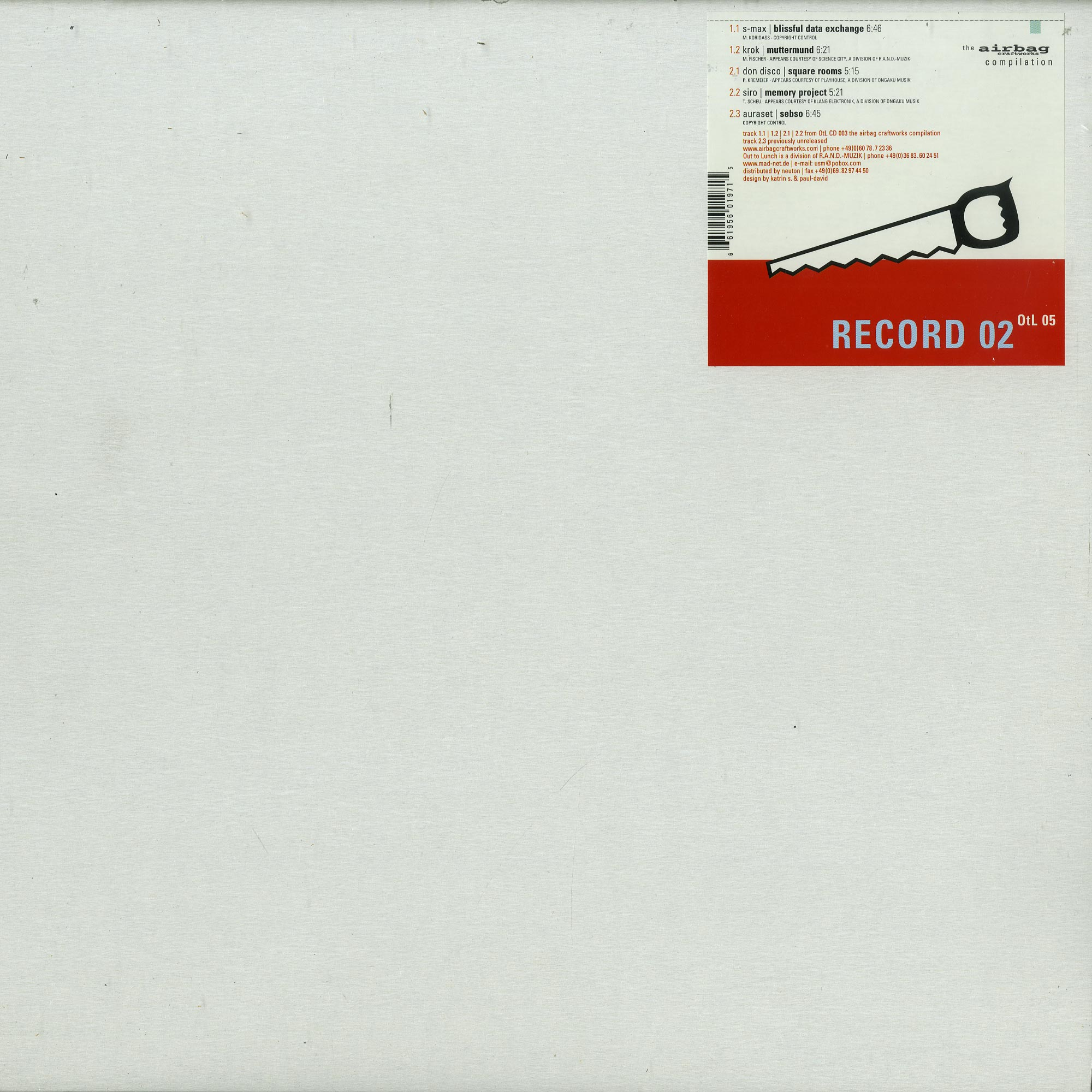 Various Artists - AIRBAG RECORD 02