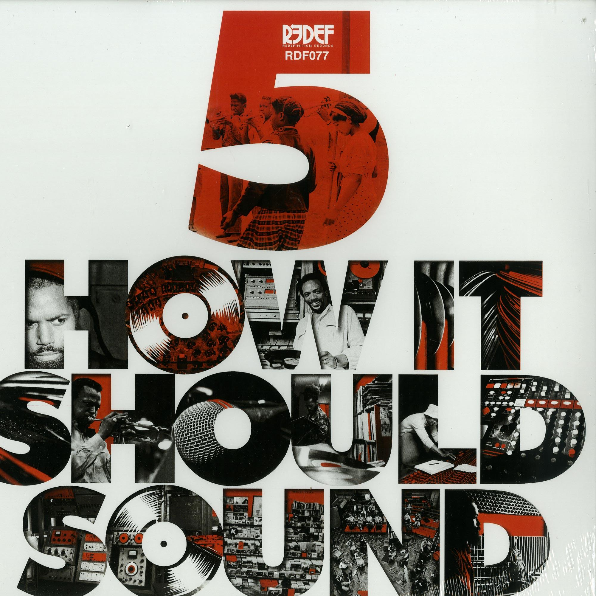 Damu The Fudgemunk - HOW IT SHOULD SOUND VOLUME 5