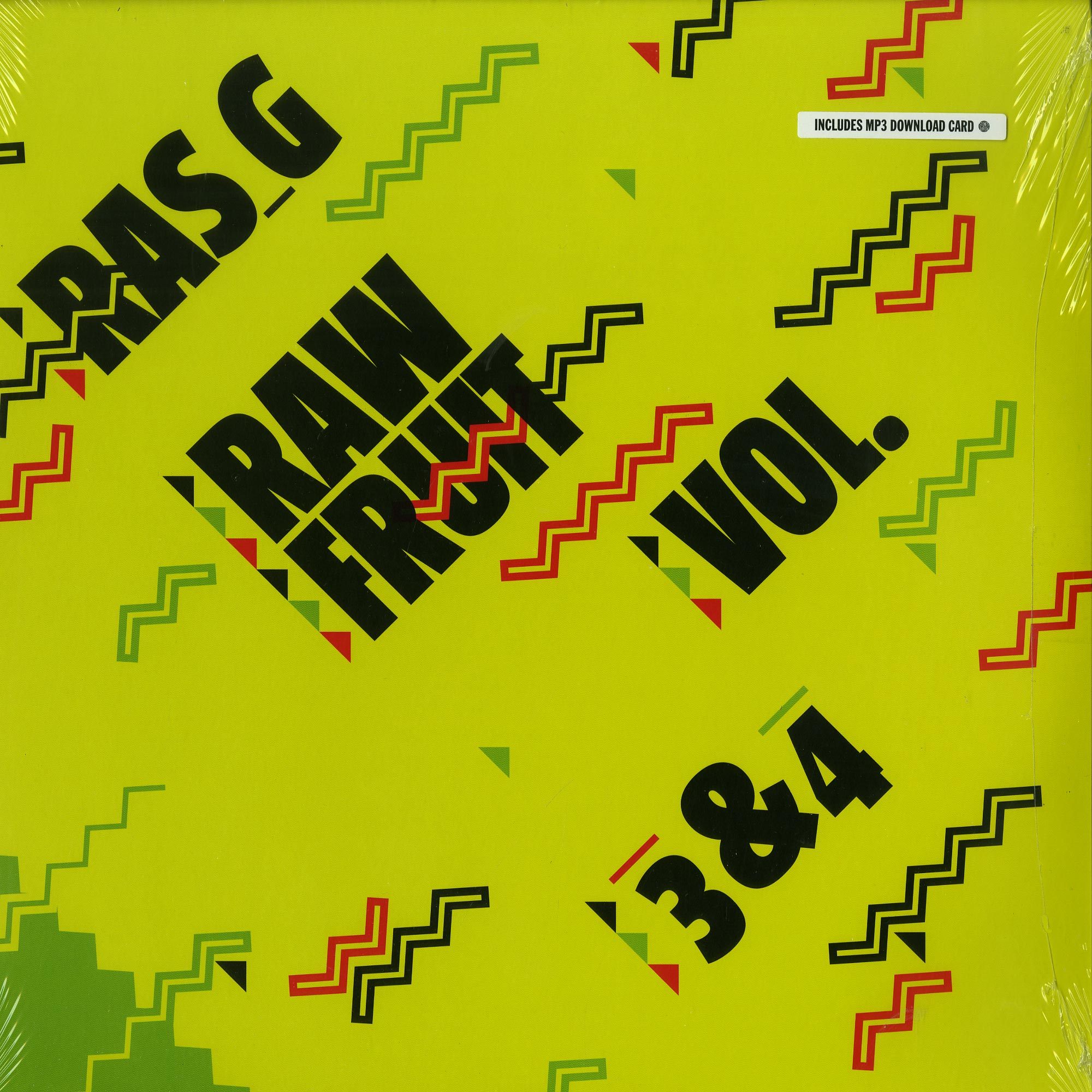 Ras G - RAW FRUIT VOL.3-4
