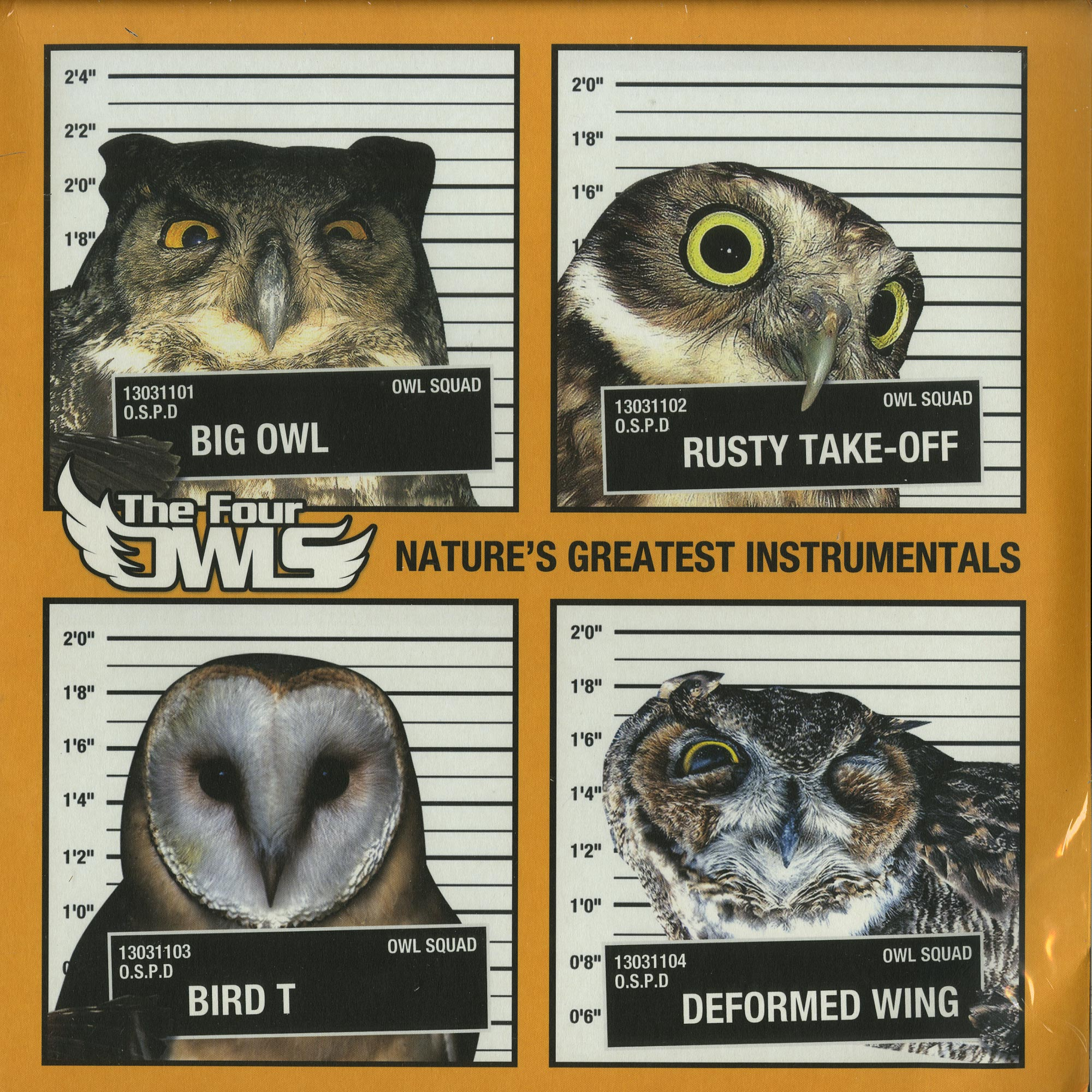 The Four Owls - NATURES GREATEST INSTRUMENTALS