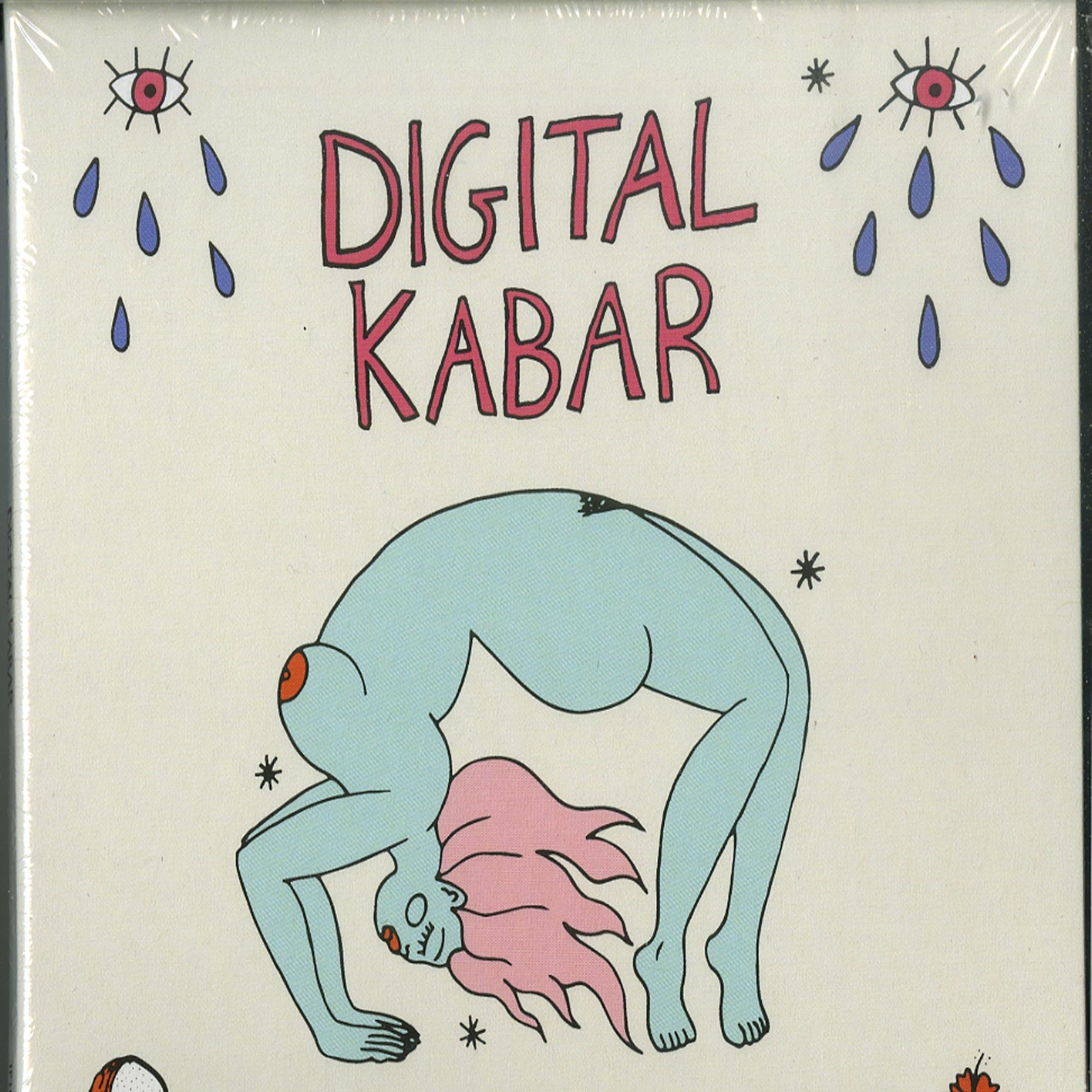 Various Artists - Digital Kabar - ELECTRONIC MALOYA FROM LA REUNION SINCE