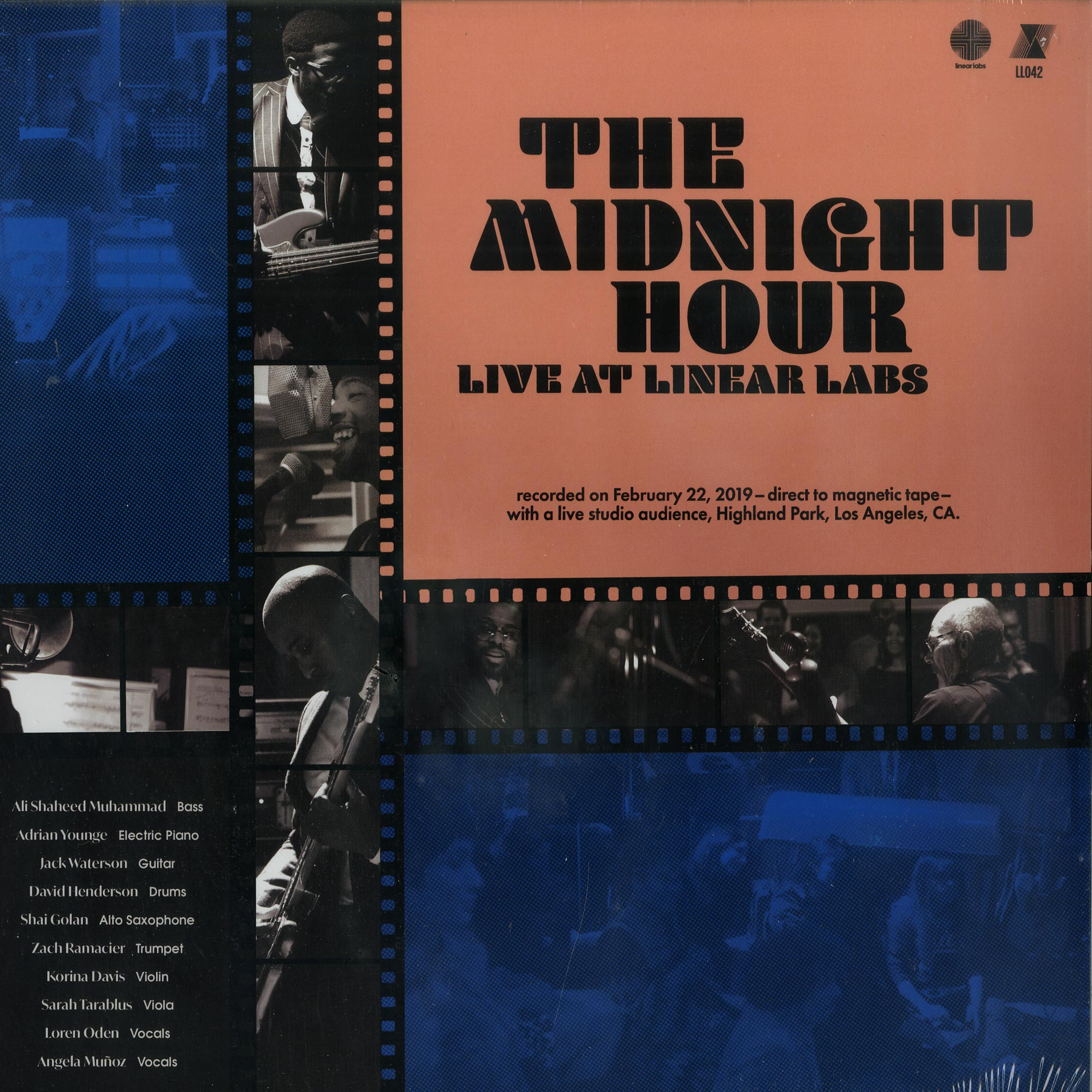Adrian Younge & Ali Shaheed Muhammad - THE MIDNIGHT HOUR LIVE AT LINEAR LABS