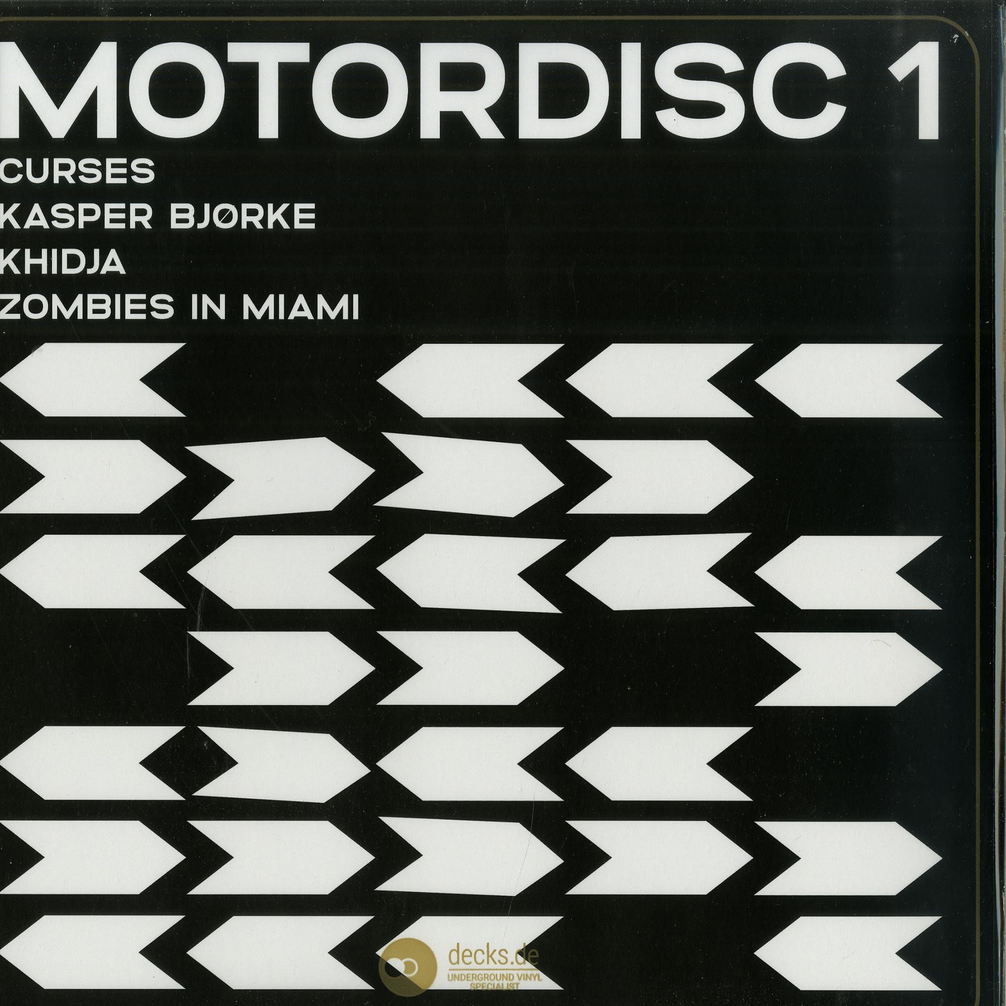 Kasper Bjorke / Curses / Khidja / Zombies in Miami - MOTORDISC 1