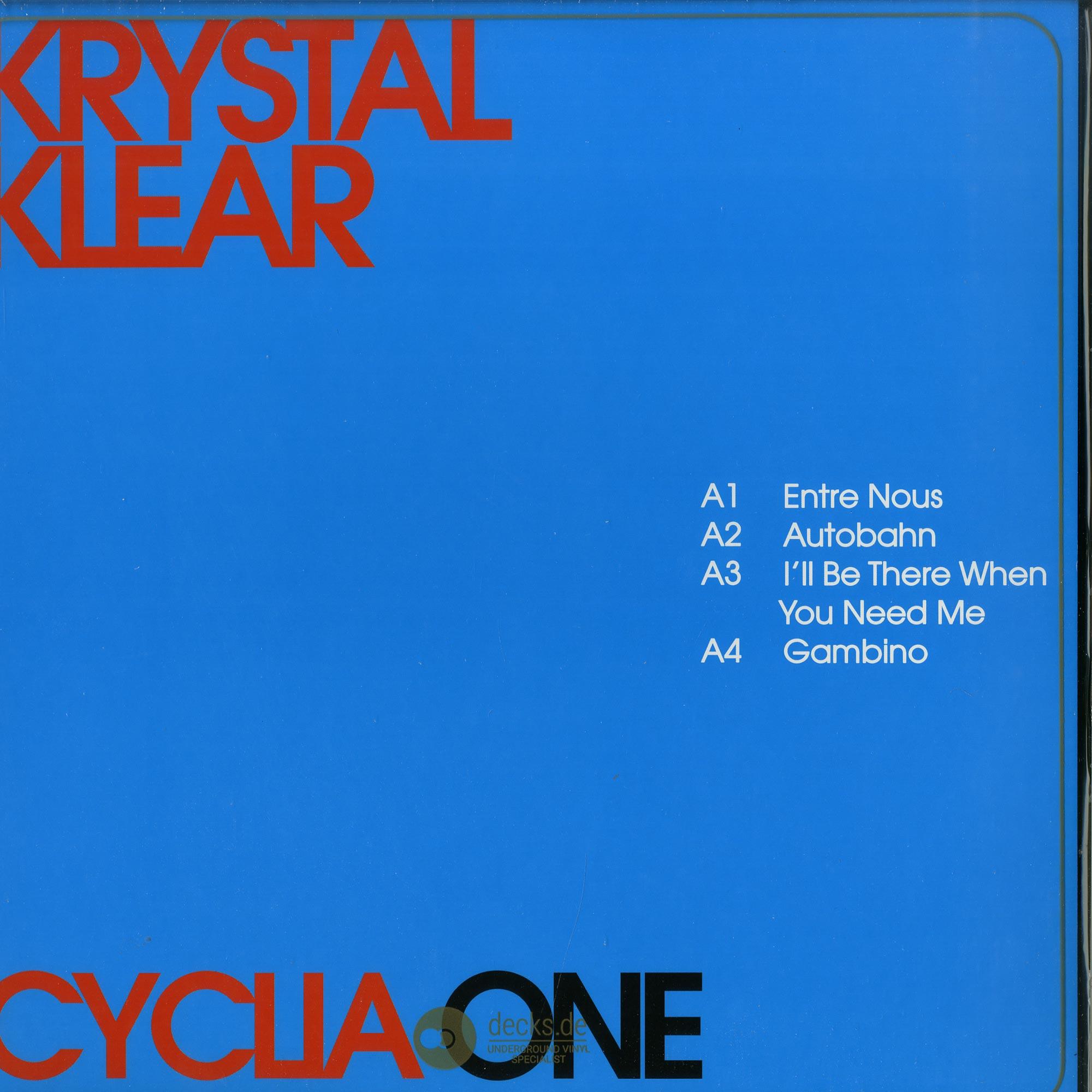 Krystal Klear - CYCLIA ONE