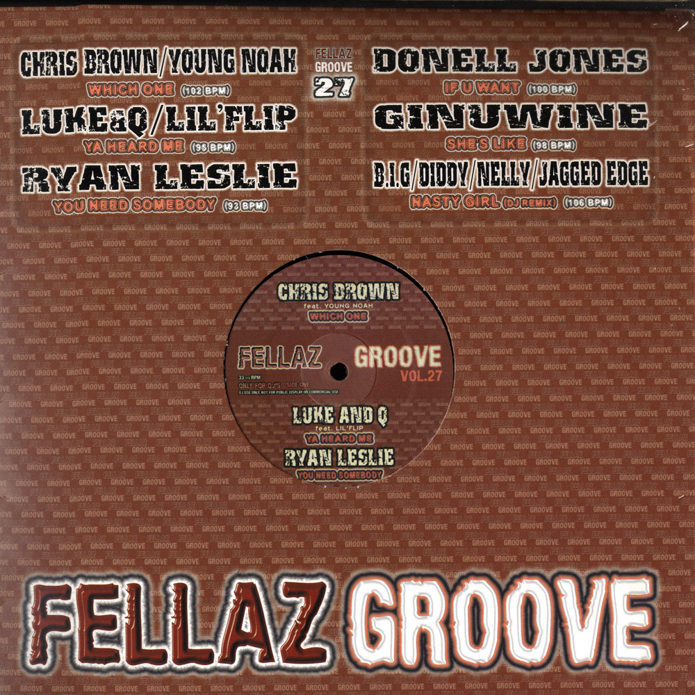 Various Artists - FELLAZ GROOVE VOL.27