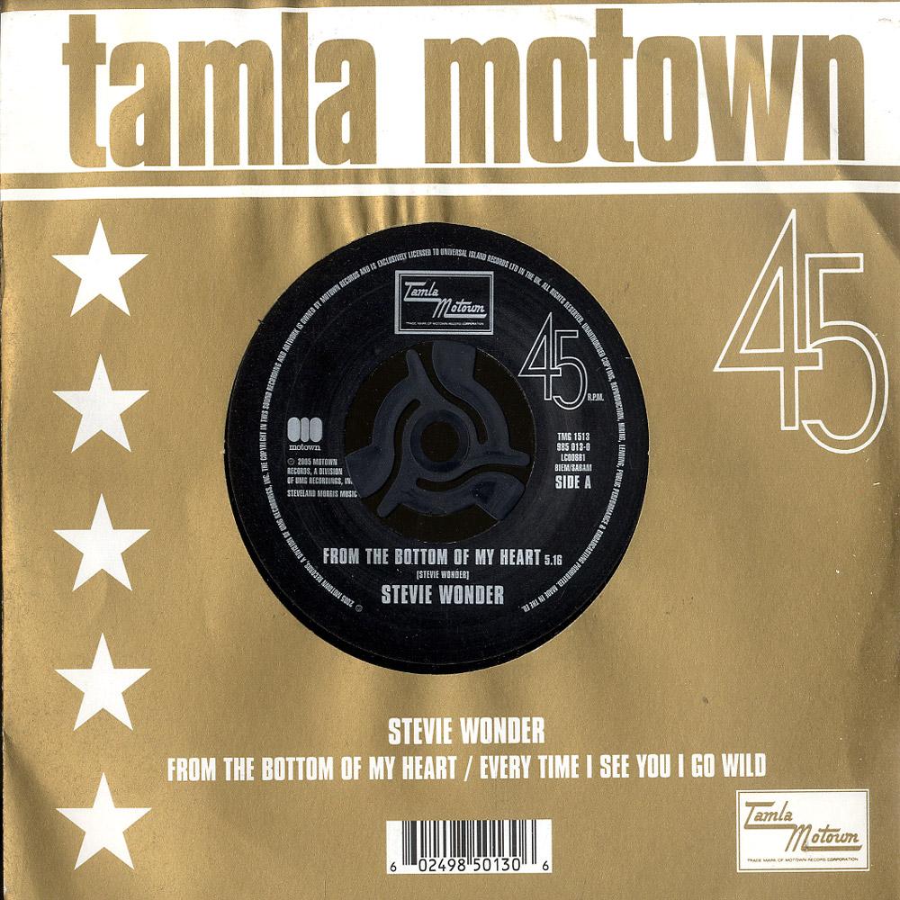 Stevie Wonder - FROM THE BOTTOM OF MY HEART