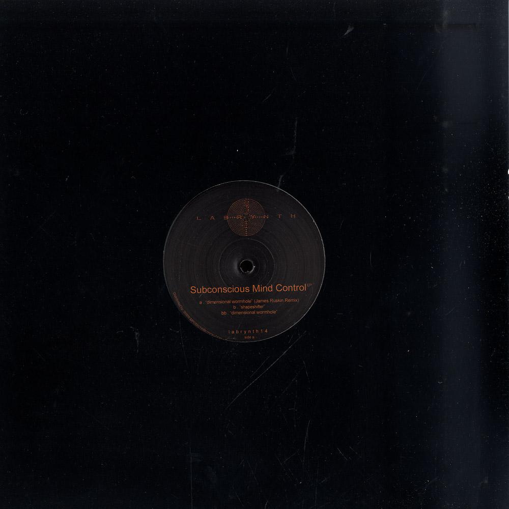 James Ruskin / Michaelangelo - SUBCONSCIOUS MIND CONTROL EP