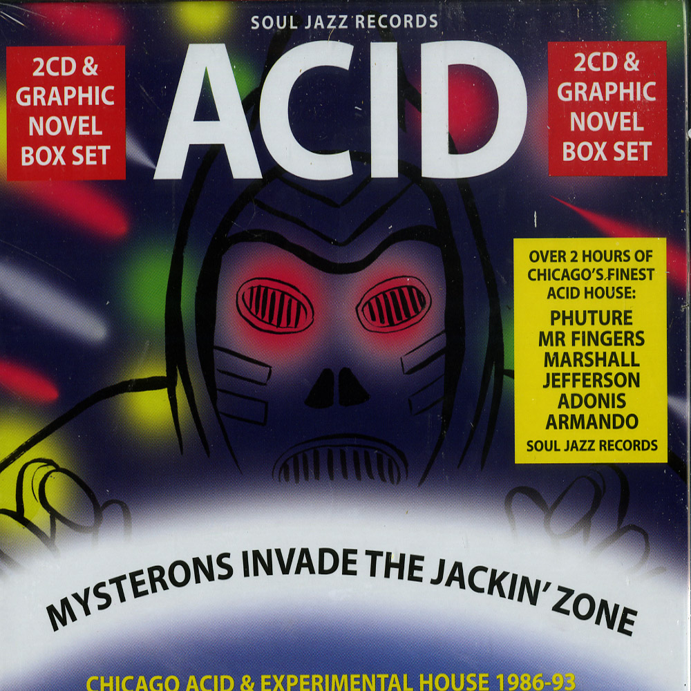 Various Artists - ACID : MYSTERONS INVADE THE JACKIN ZONE