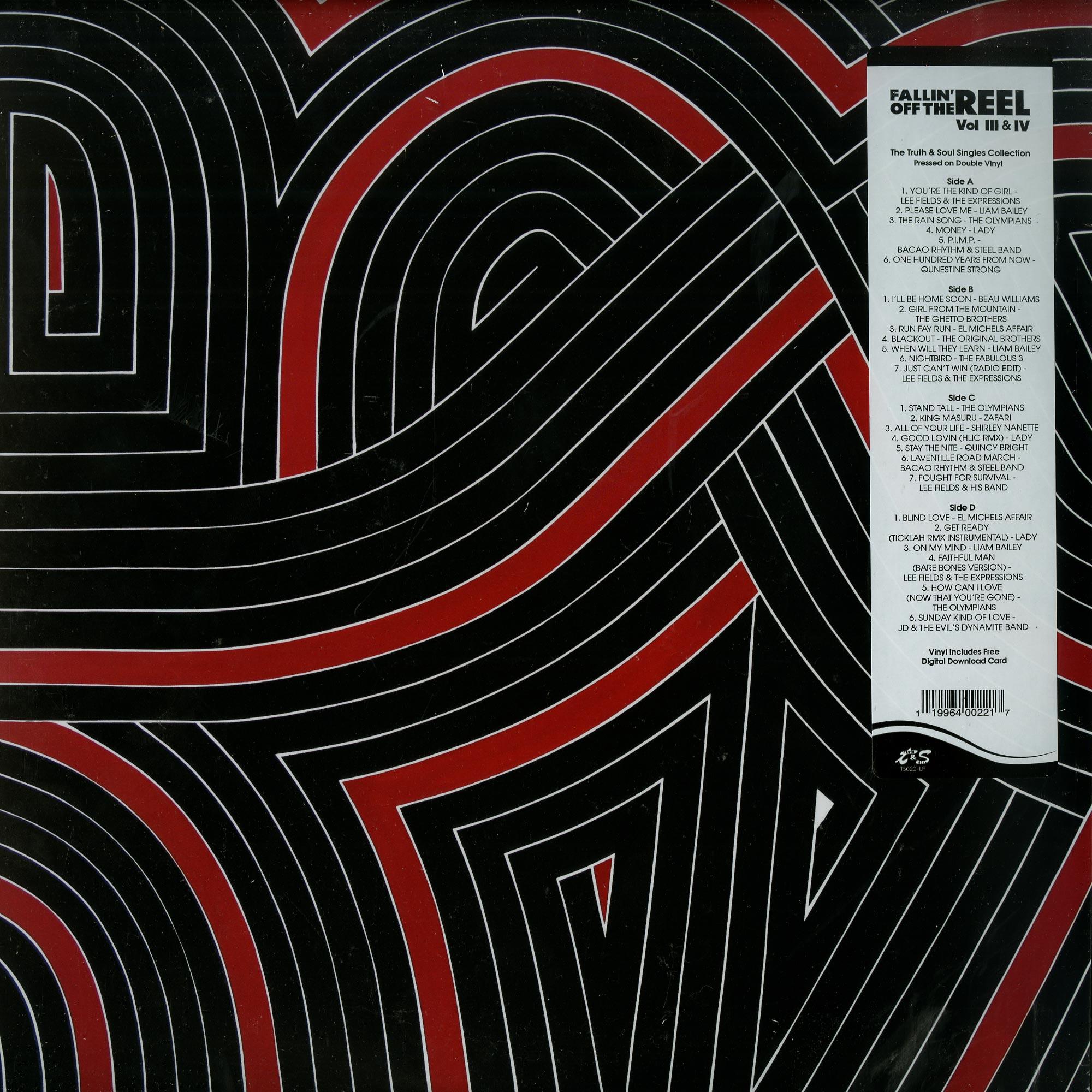 Various Artists - FALLIN OFF THE REEL VOL. III & IV